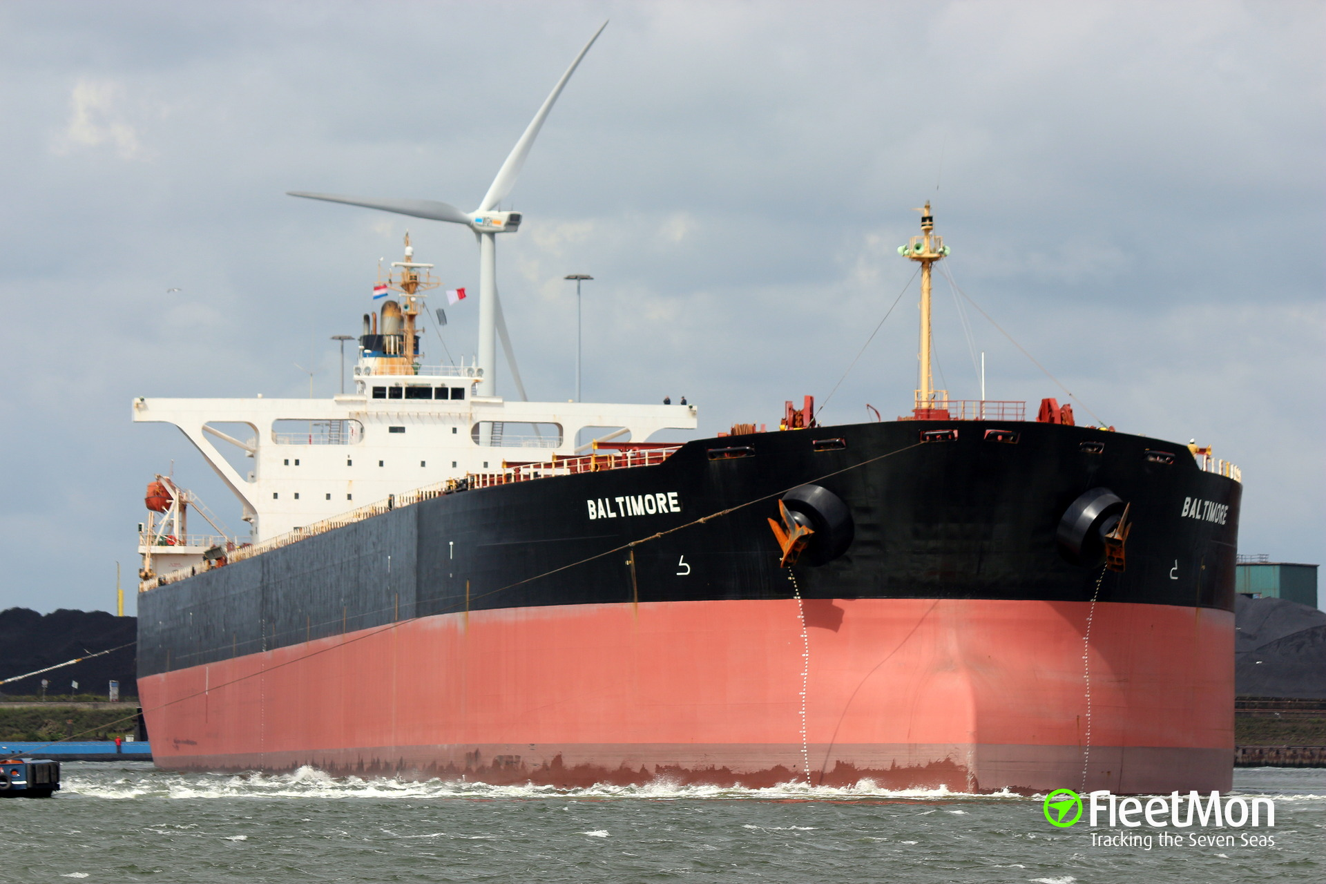 Capesize bulk carrier ransacked by pirates in South China sea?