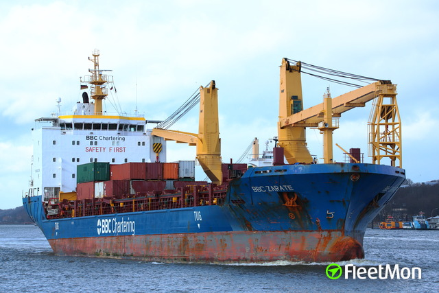 German freighter cut in two Peruvian passenger ship deep in Amazon jungle