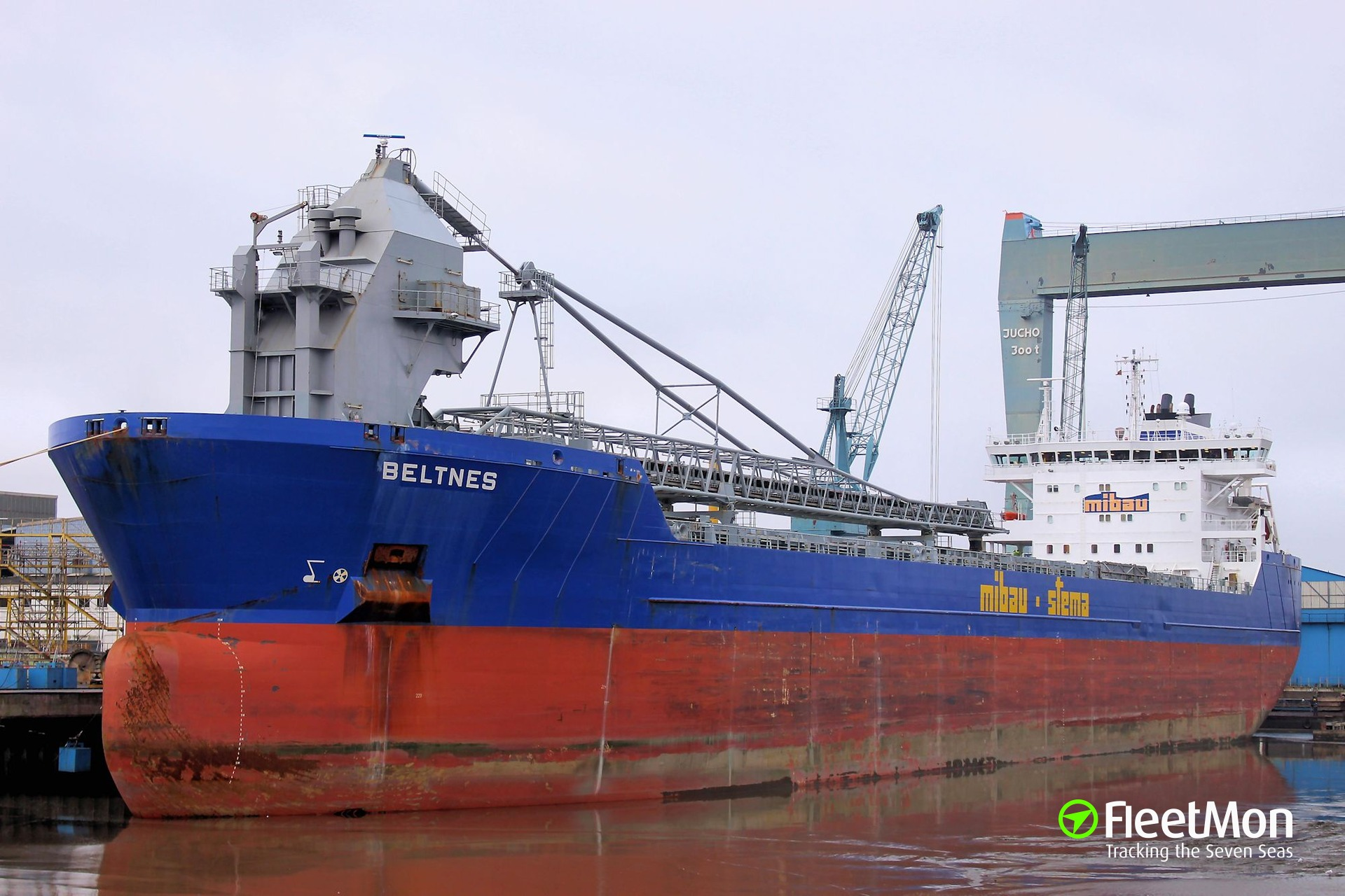 Bulk carrier Beltnes allision