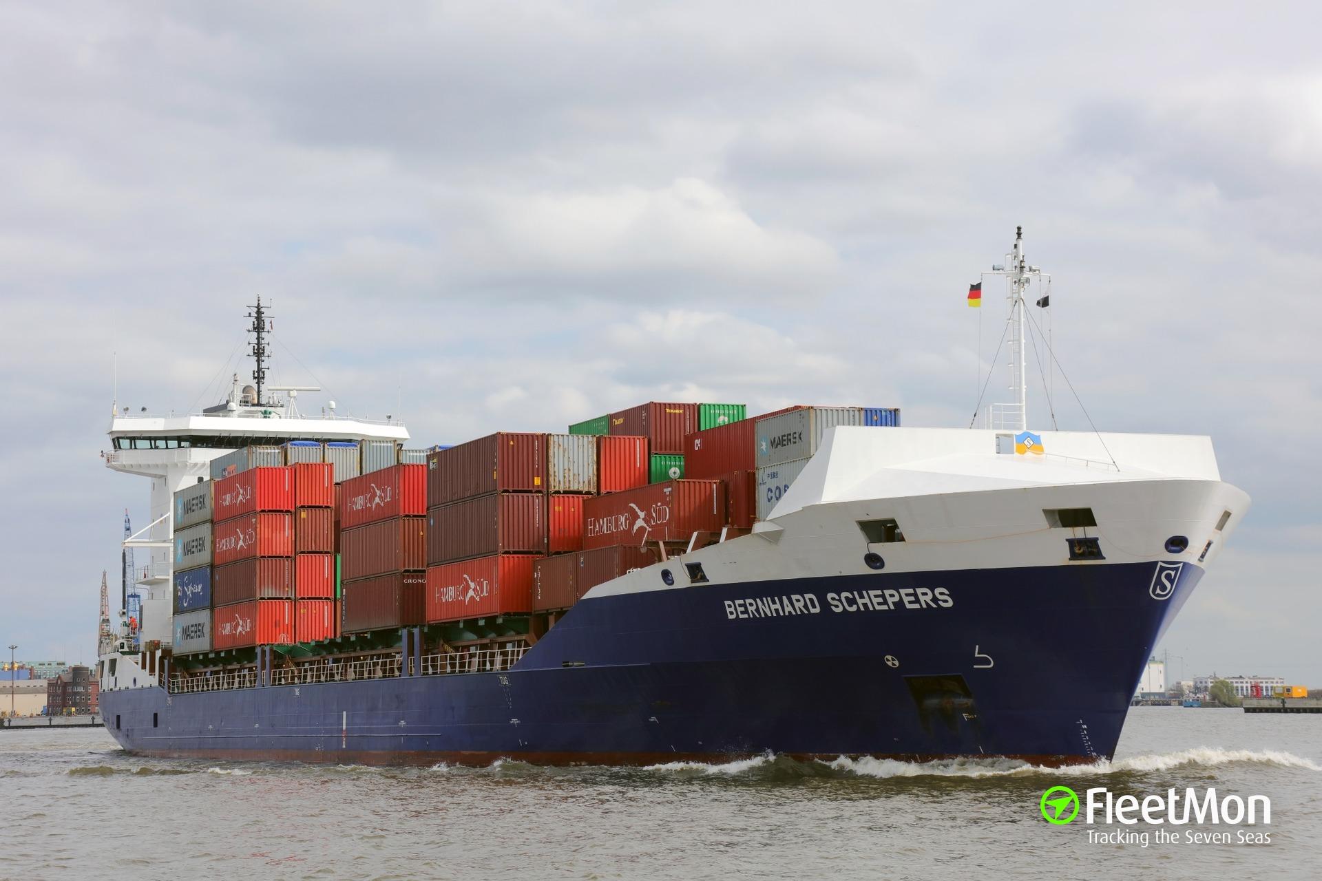 Bernhard Schepers grounding in Kiel Canal
