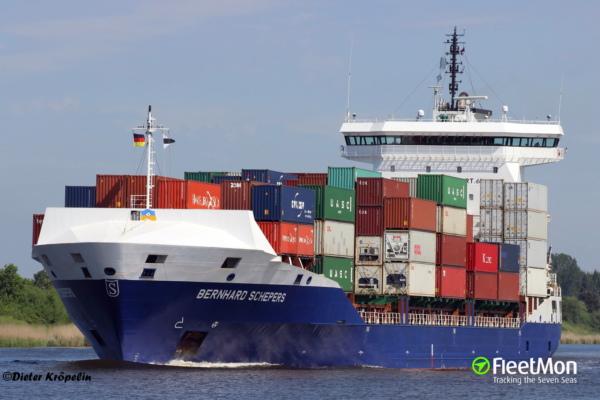 Bernhard Schepers grounding in Kiel Canal