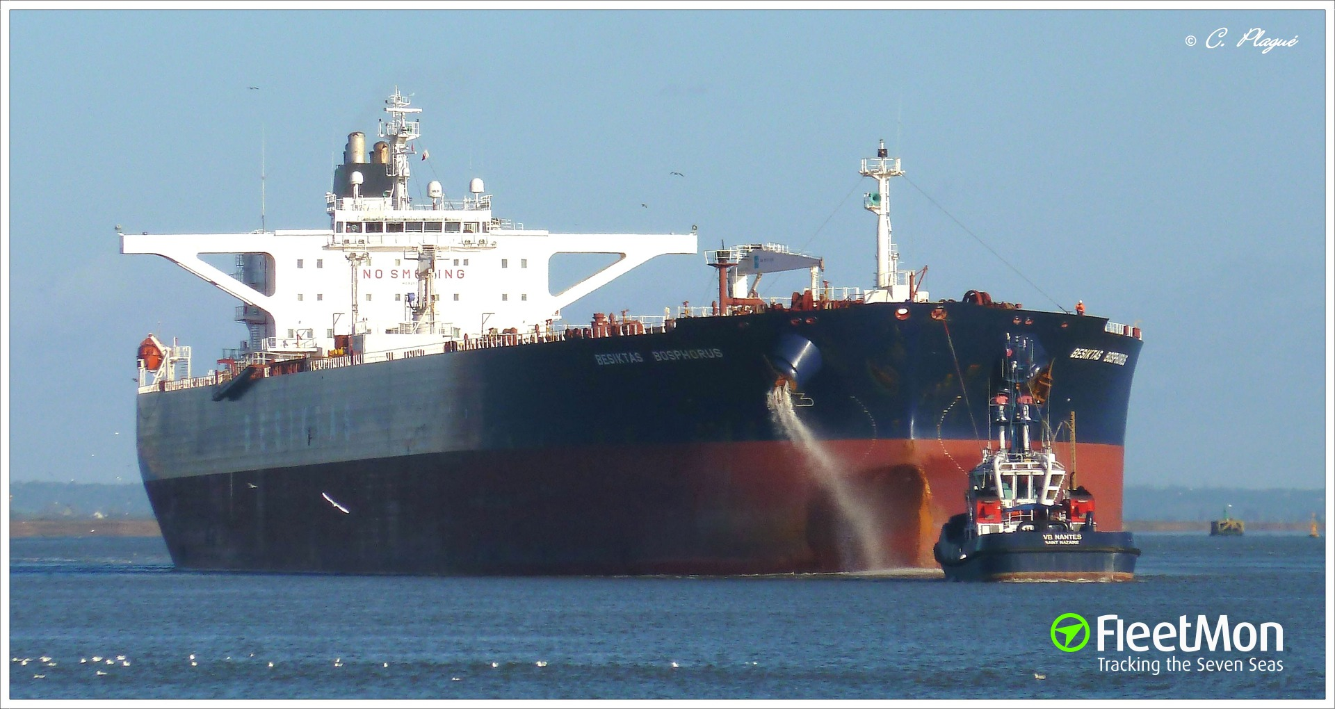 Suezmax tankers collided at Dardanelles entrance, Marmara Sea: UPDATE photo