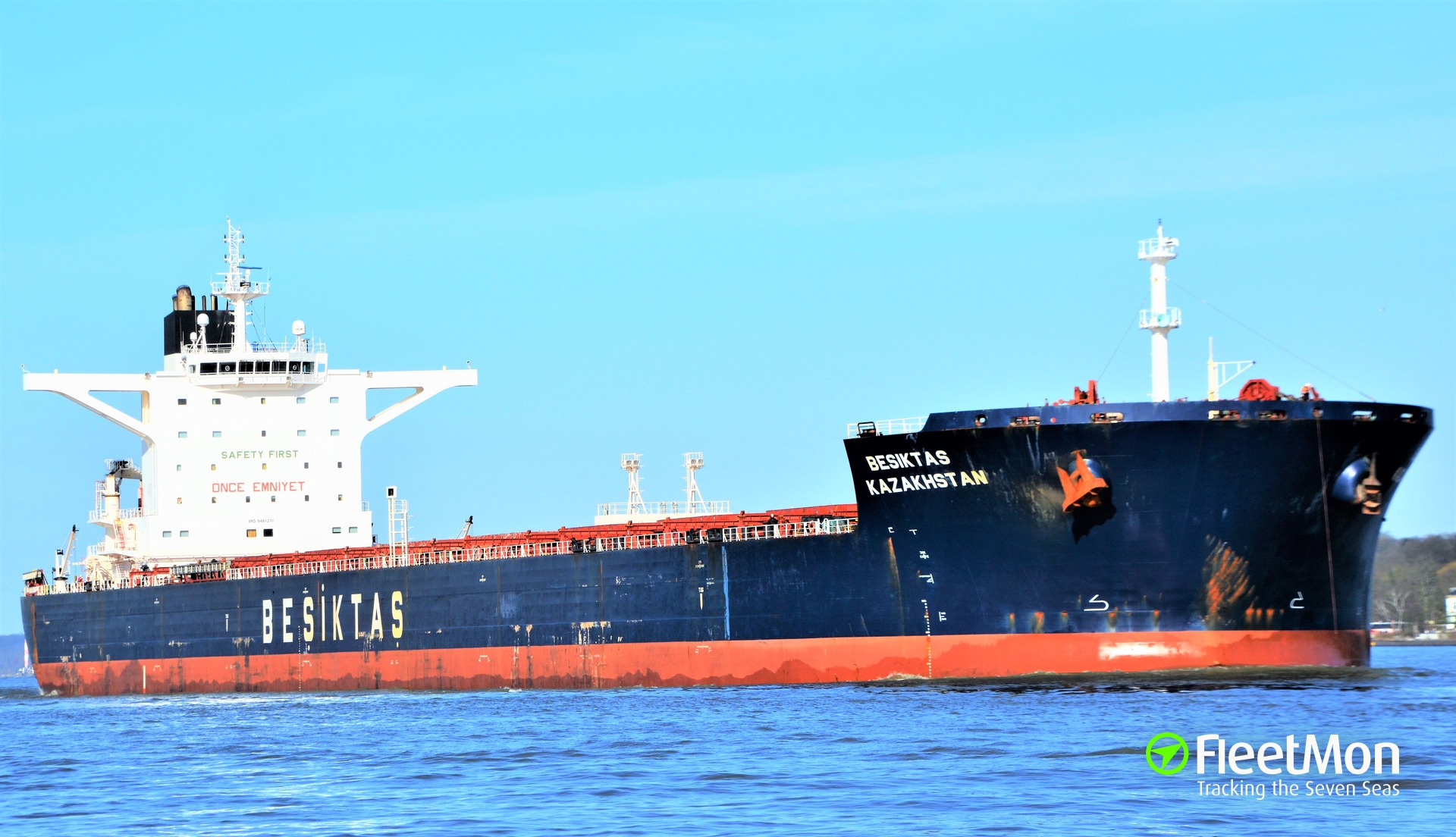 Bulk carrier BESIKTAS KAZAKHSTAN and crew cleared in cocaine bust