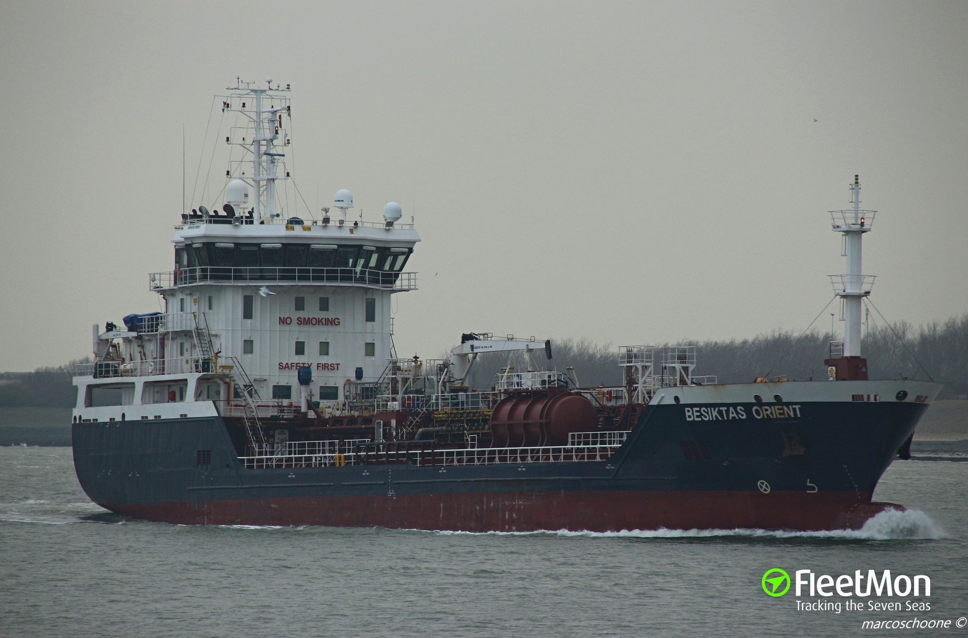 Product tanker BESIKTAS ORIENT towed to Brest