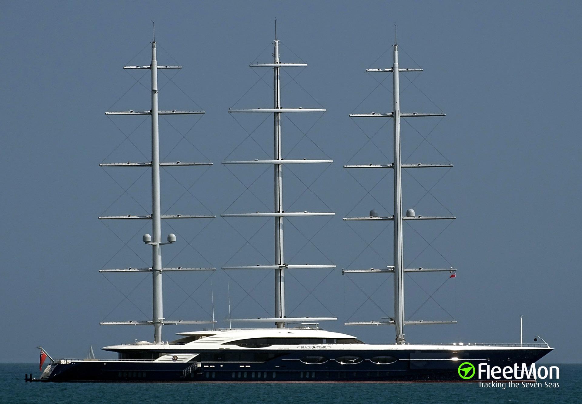 Vessel Black Pearl (Sailing ship) IMO 1012490, MMSI 319113100