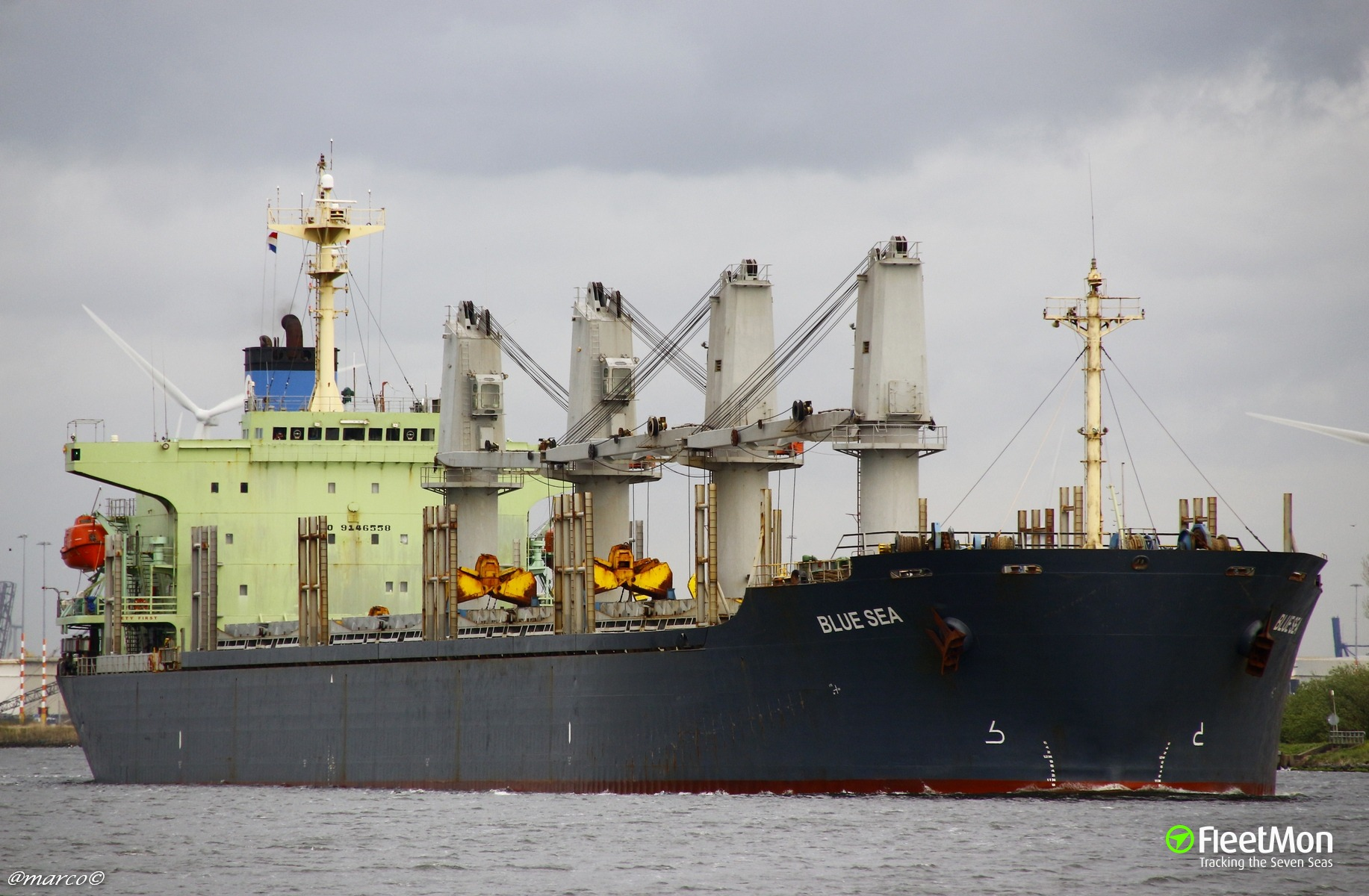 Bulk carrier BLUE SEA under investigation after cocaine bust