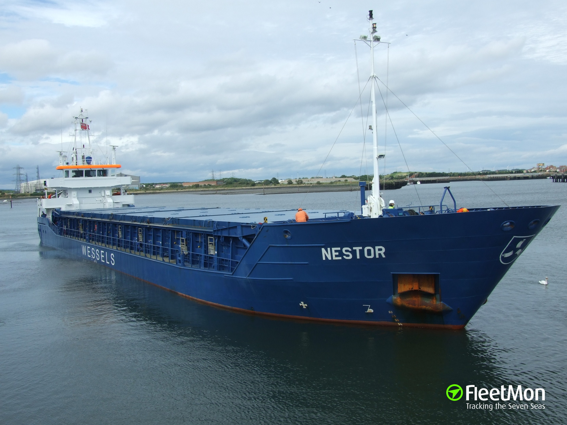 Nestor coped with water ingress by own means, North sea