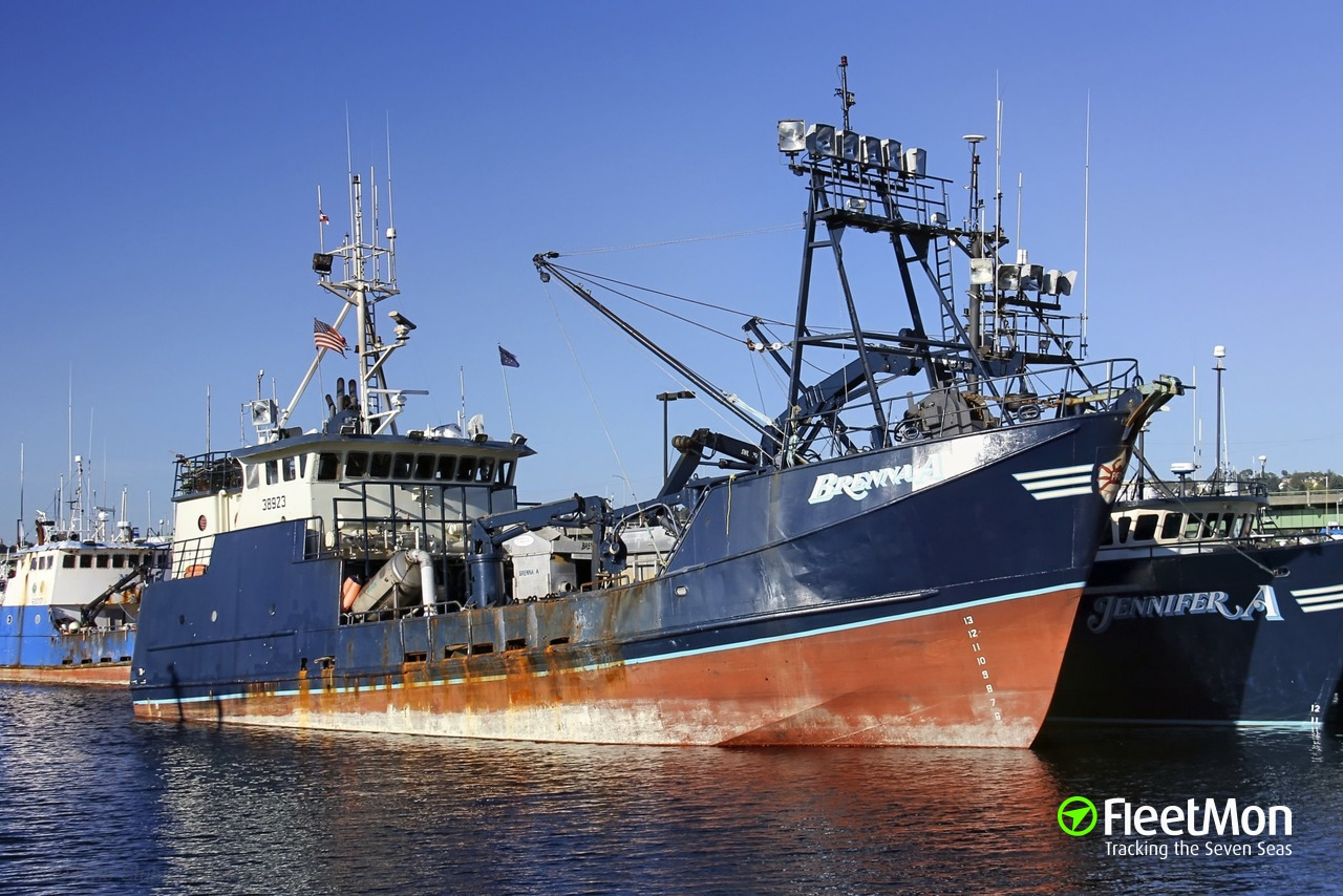 Vessel Brenna A Fishing Vessel Imo 7933684 Mmsi 367123630