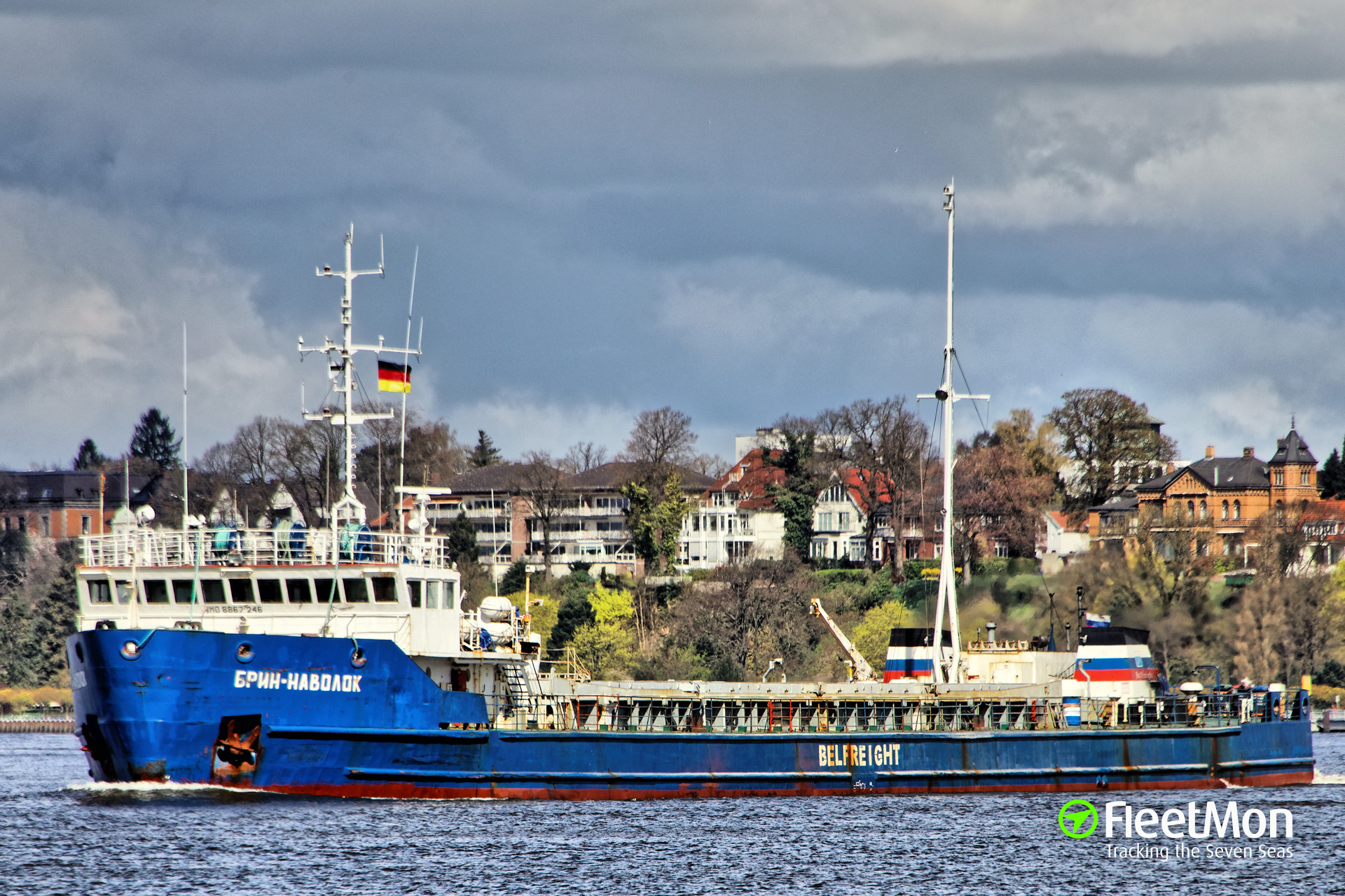 Freighter Brin-Navolok, Arctic