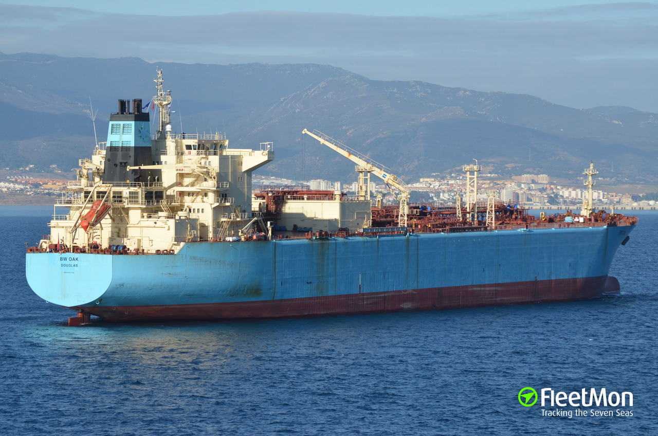 Vessel BW OAK (Liquefied gas carrier) IMO 9320764, MMSI 235101304