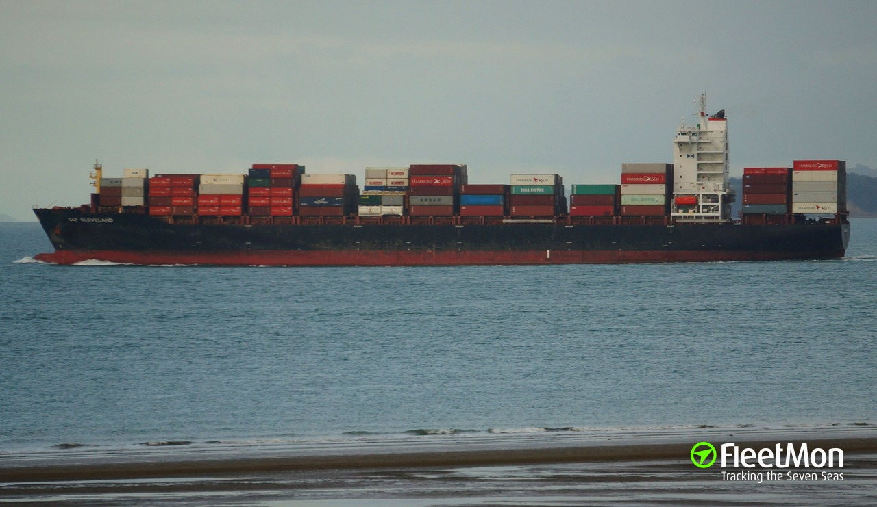 f5905d9d534 CAP CLEVELAND (Container ship) IMO 9620607