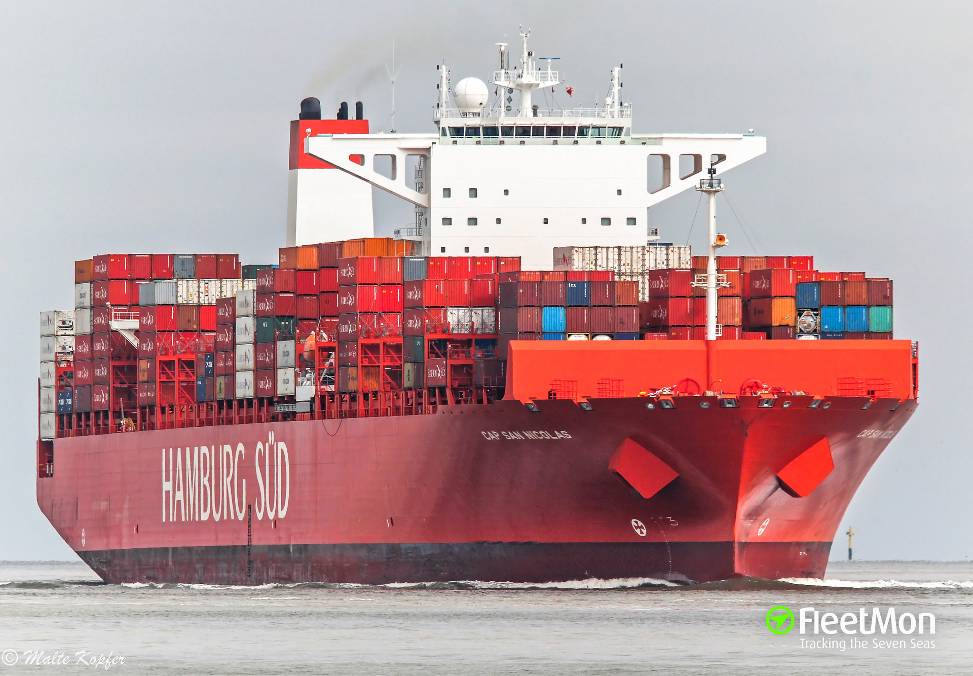 322 kilo of cocaine found in container lon board of boxship CAP SAN NICOLAS