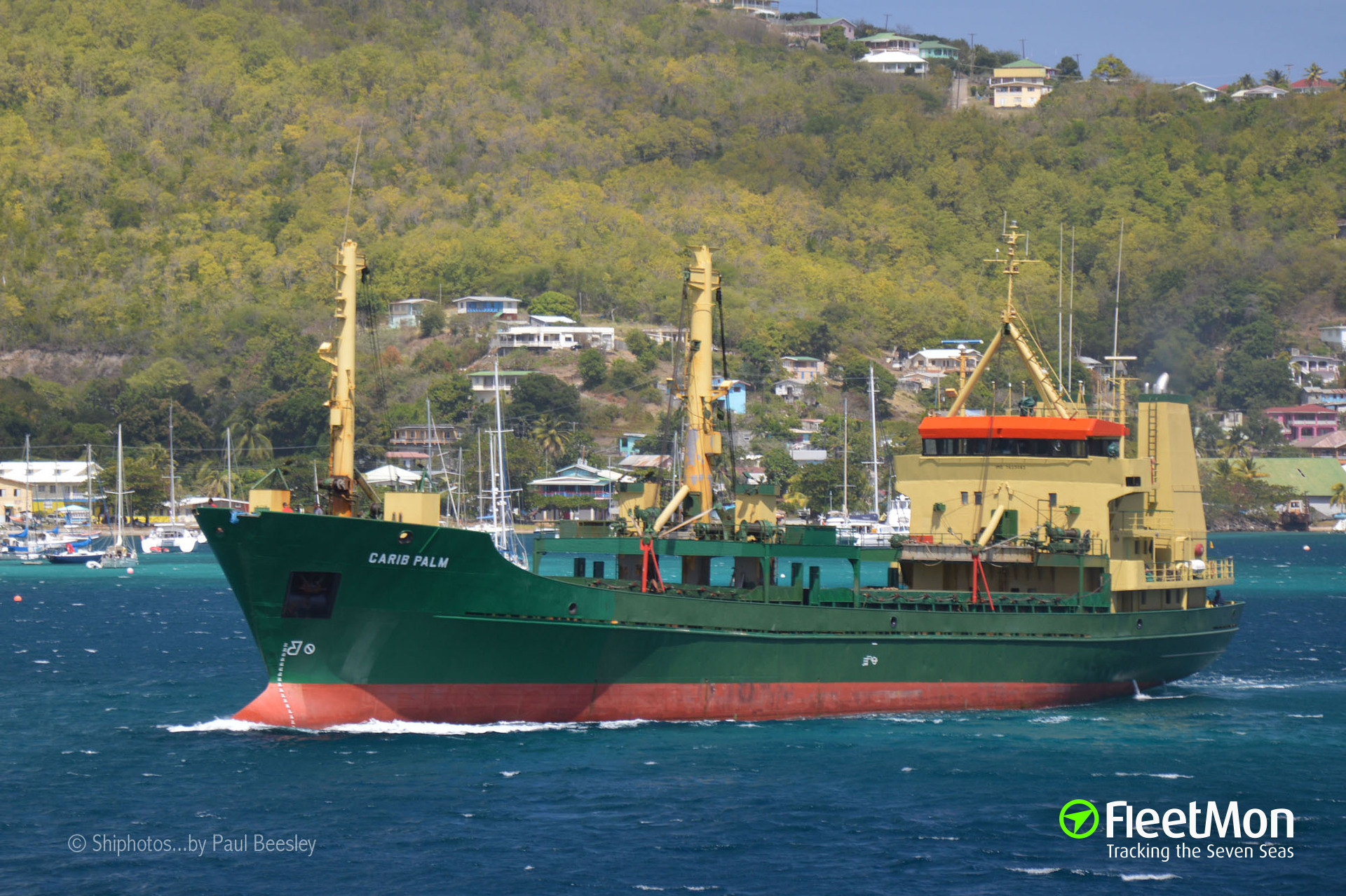 General cargo vessel CARIB PALM arrested with 2.4 tons of cocaine on board