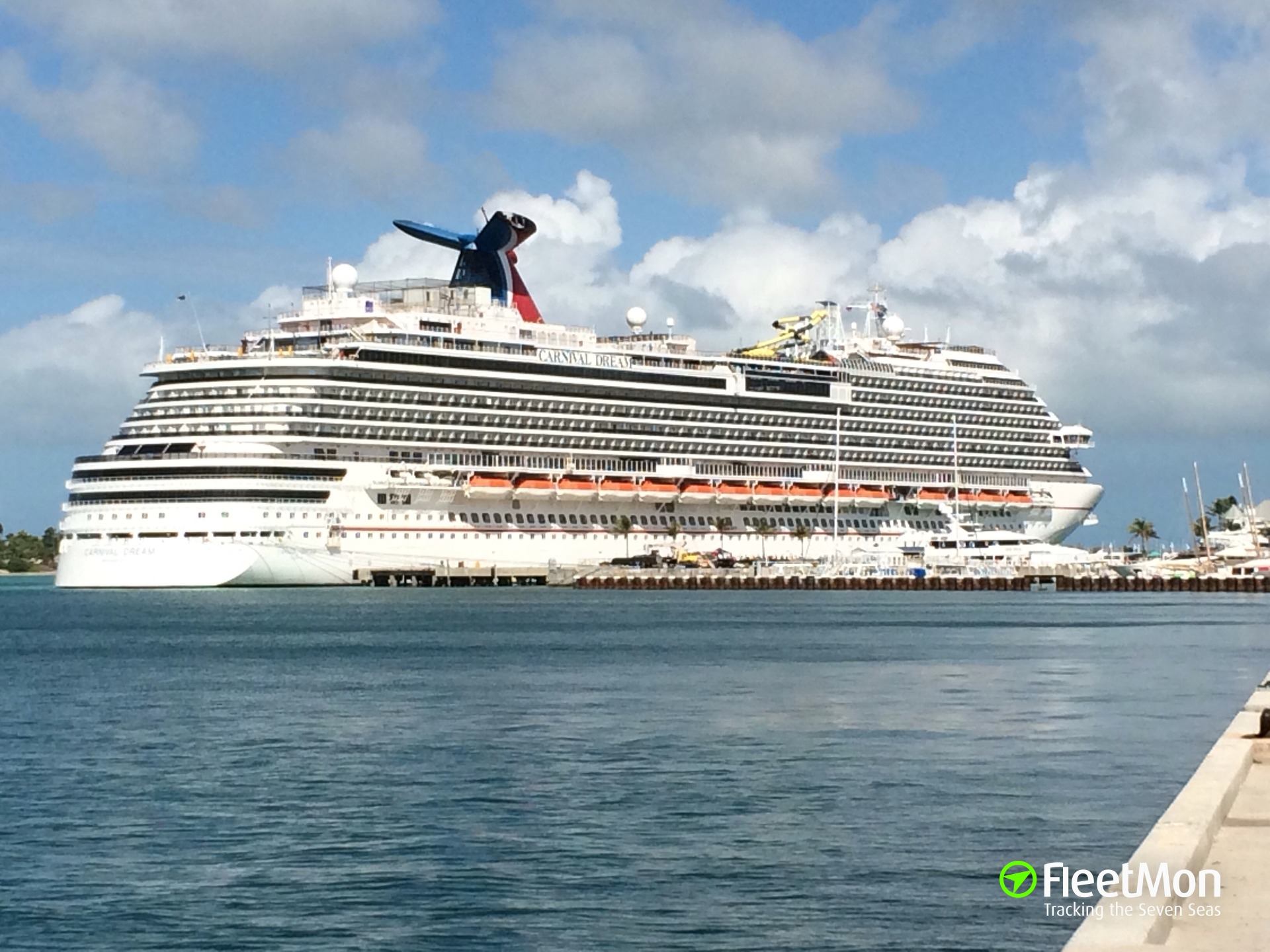 Carnival Dream full of human wastes of just two passengers