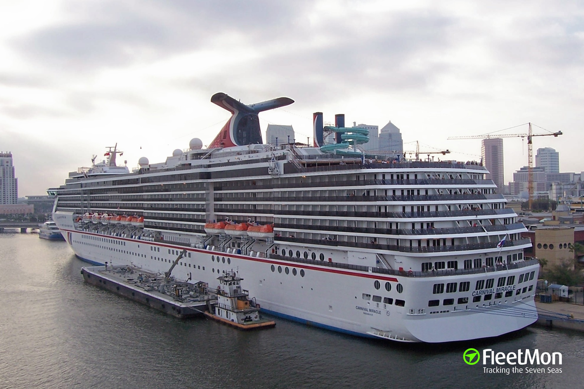 Photo Of Carnival Miracle Imo 9237357 Mmsi 354277000