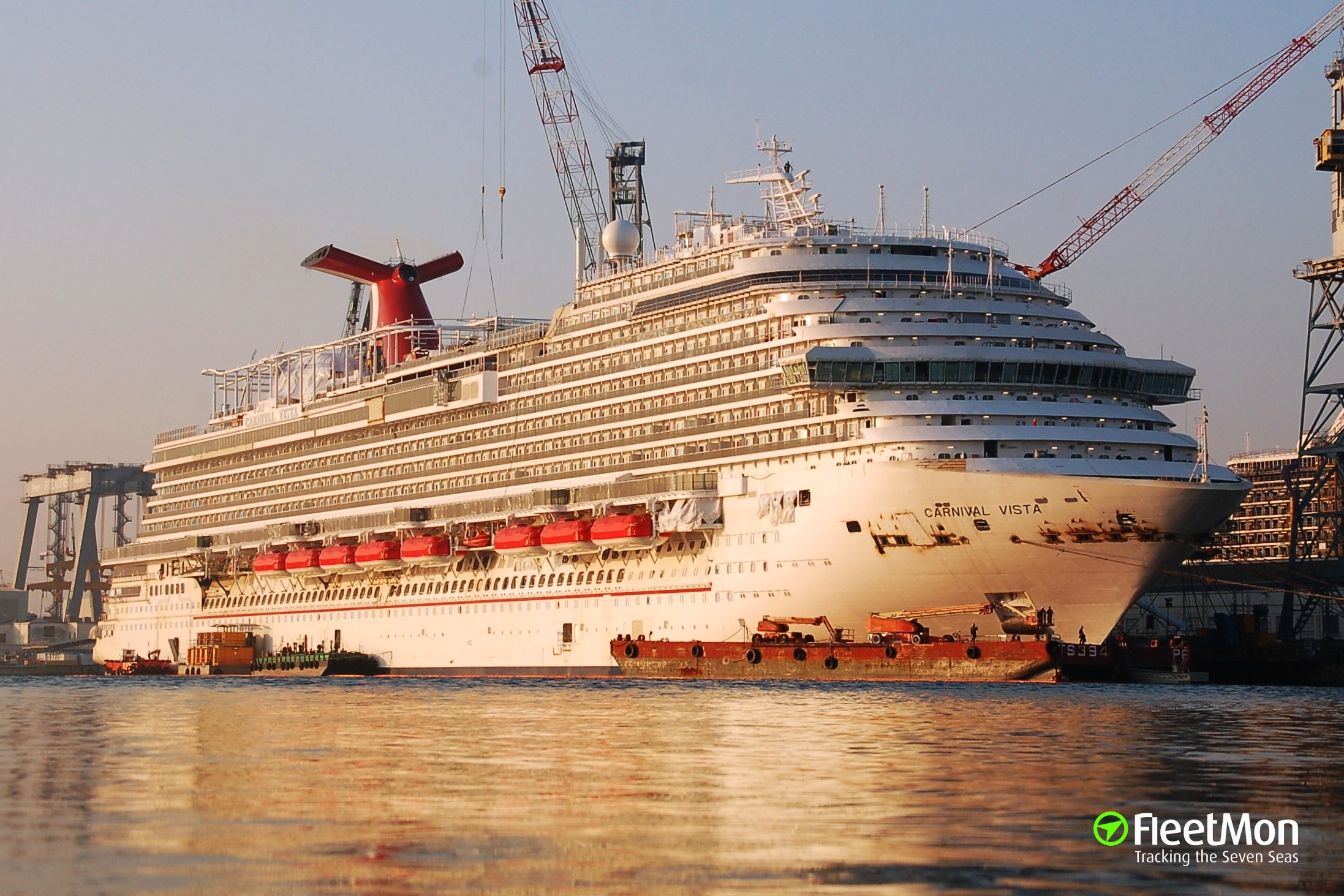 Photo Of Carnival Vista Imo 9692569 Mmsi 356883000