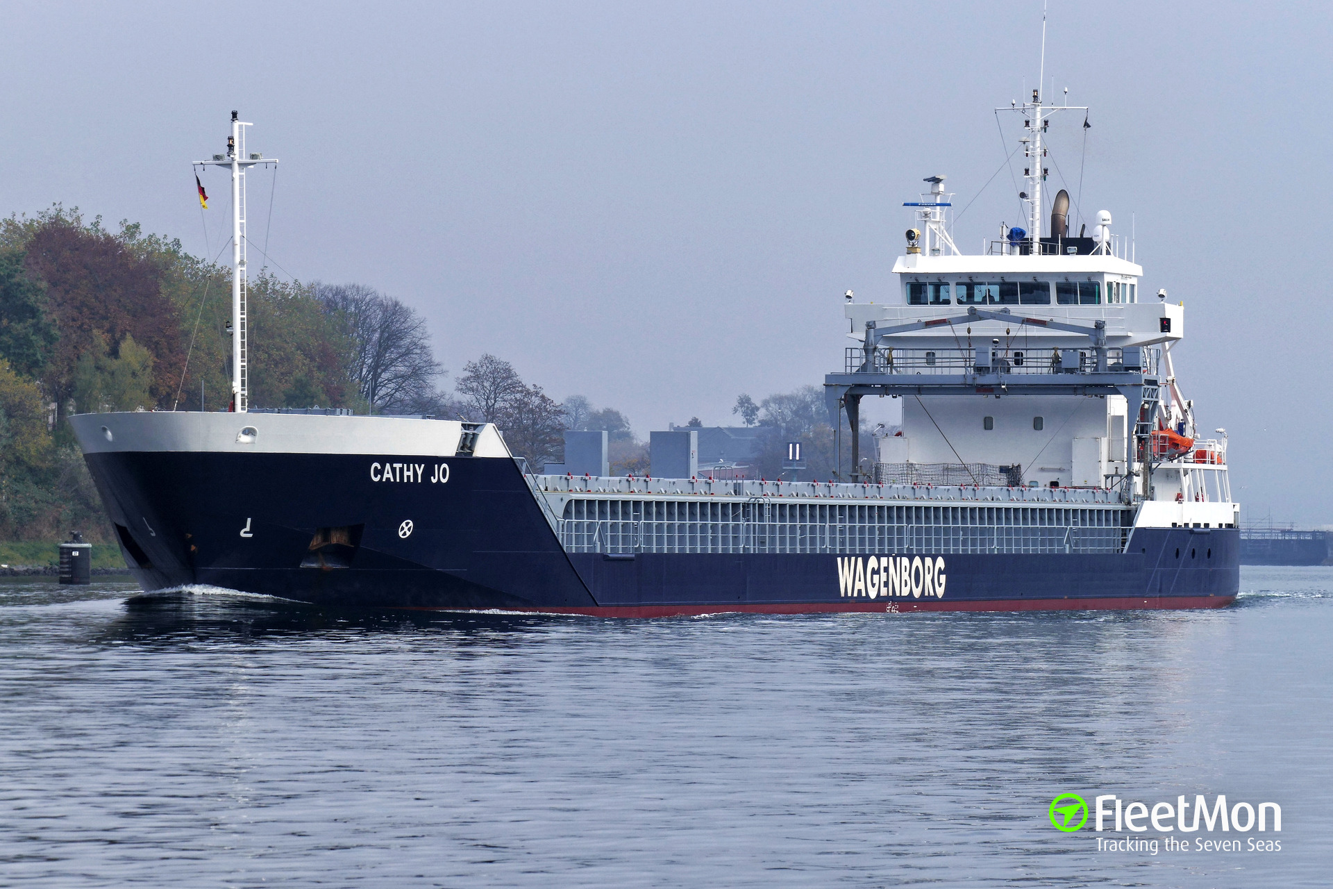 General cargo vessel Cathy Jo grounding, Denmark
