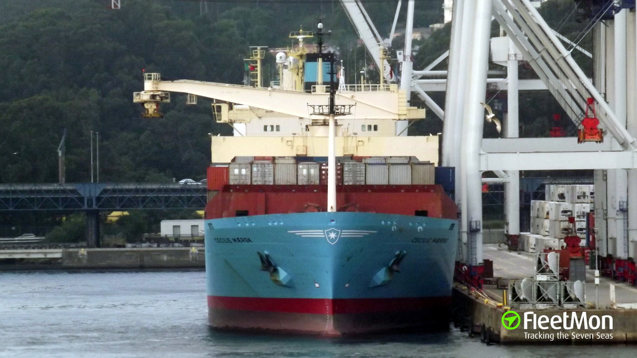 Maersk container ship collided with longliner, returned and rescued the crew