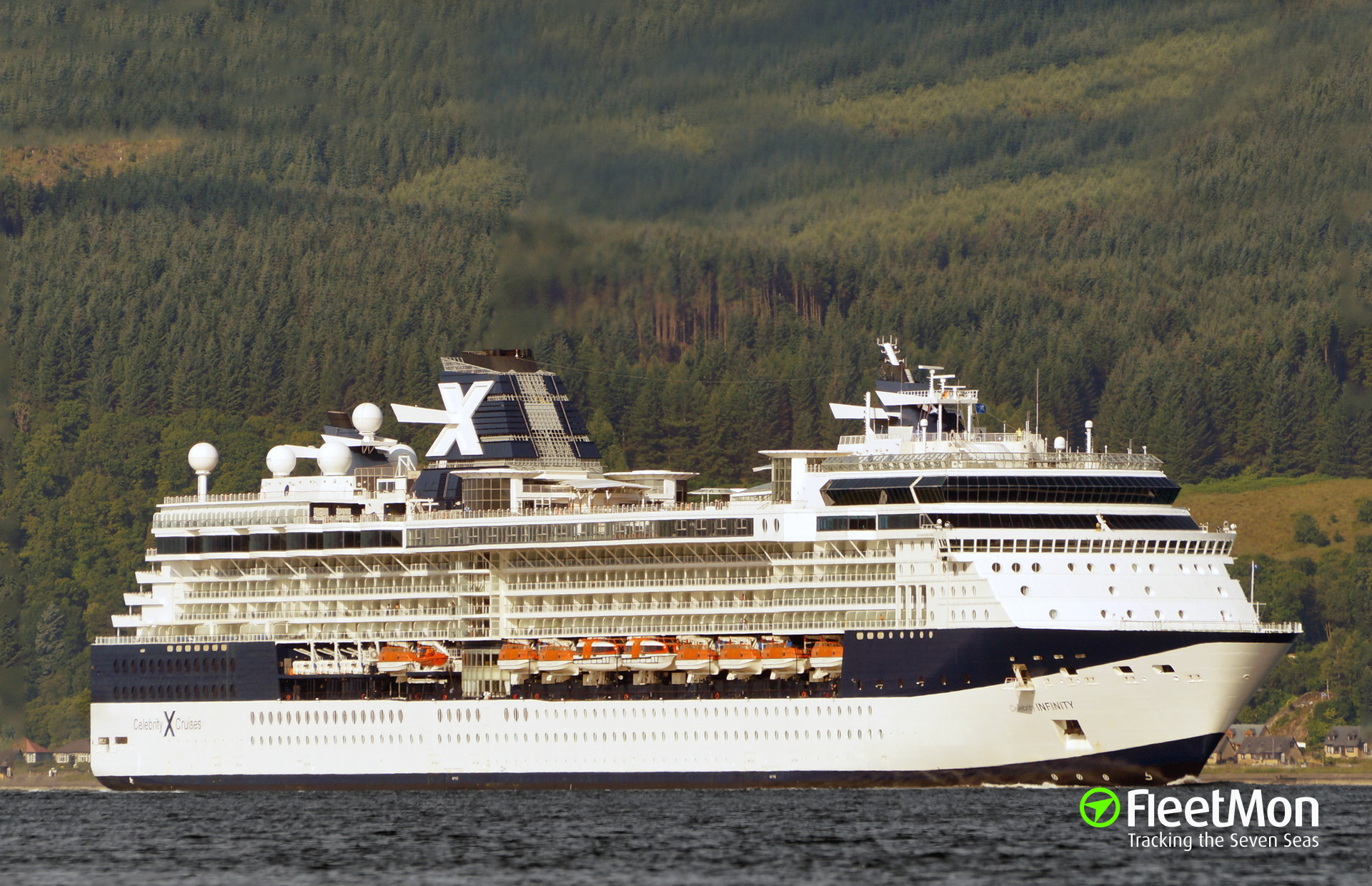 CELEBRITY INFINITY Current Position ( - DUAL TRACKING ...