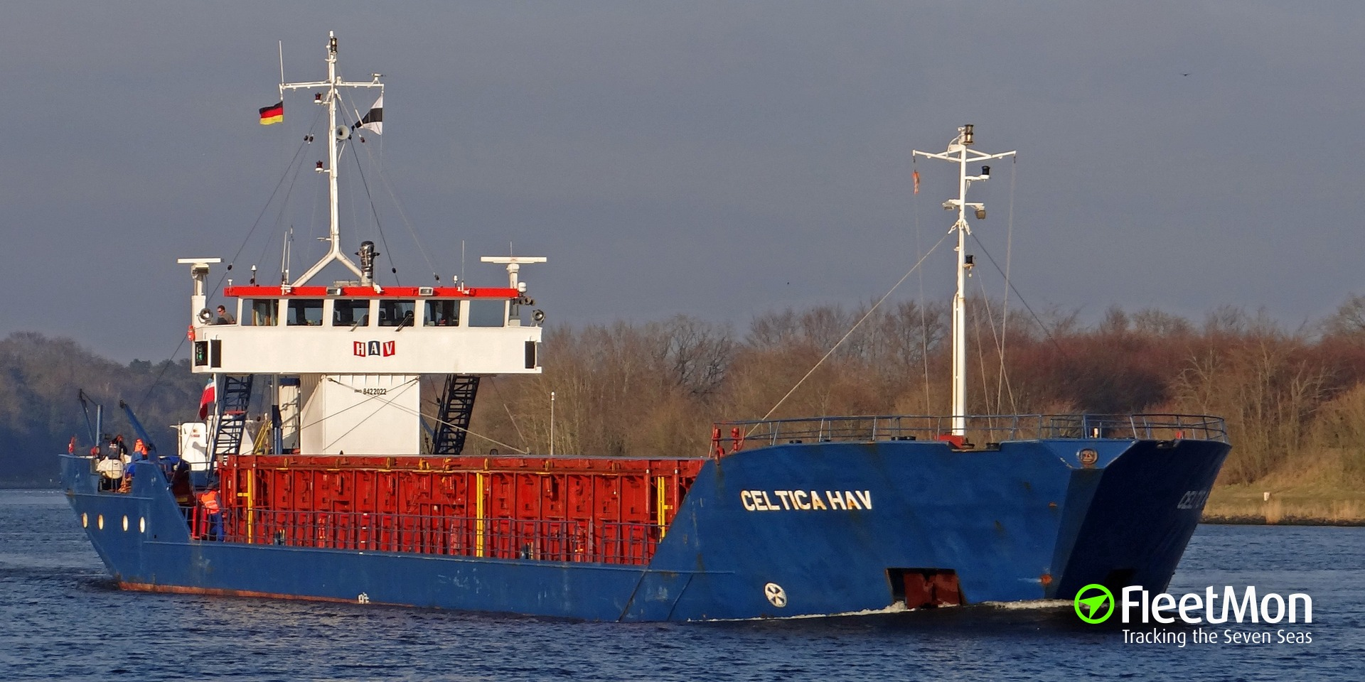 Celtica Hav returned to Aberdeen with fire in cargo holds