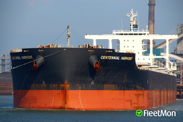 Capesize bulk carrier troubled in Atlantic, resumed sailing