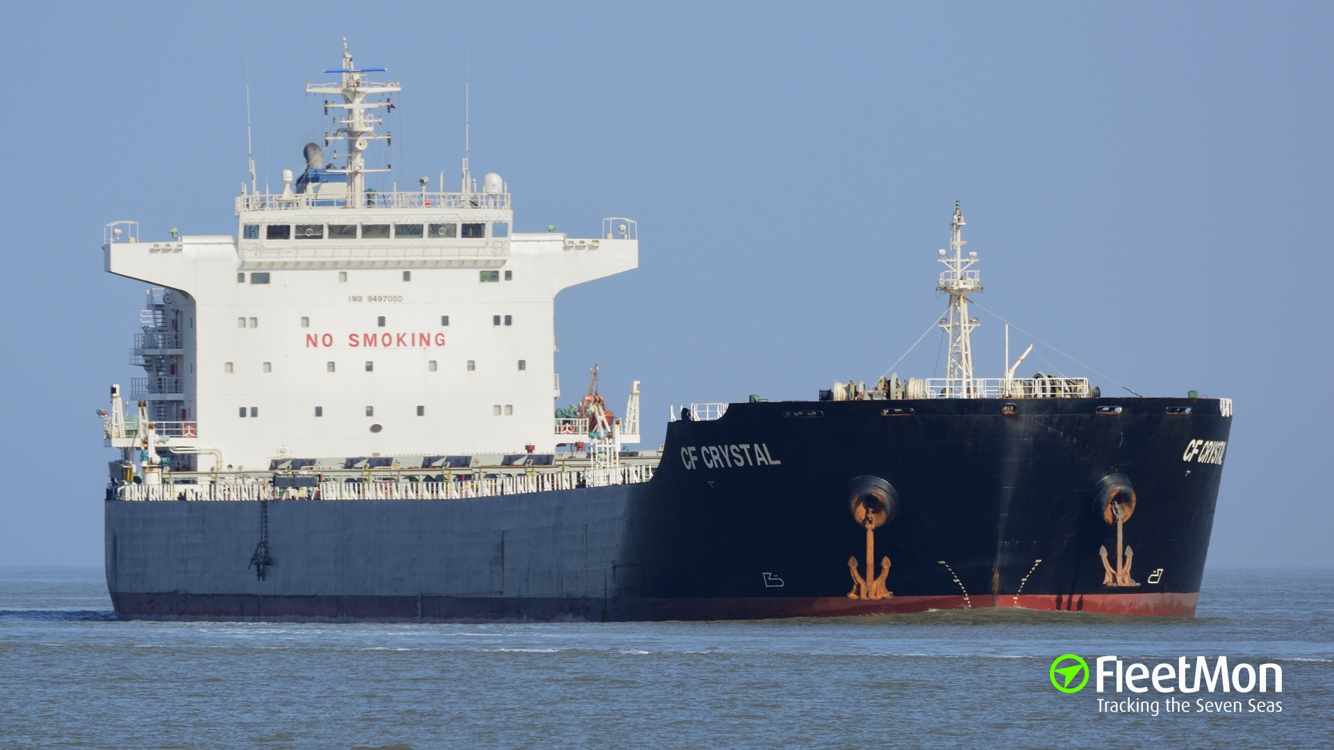 Bulk carrier CF Crystal man overboard