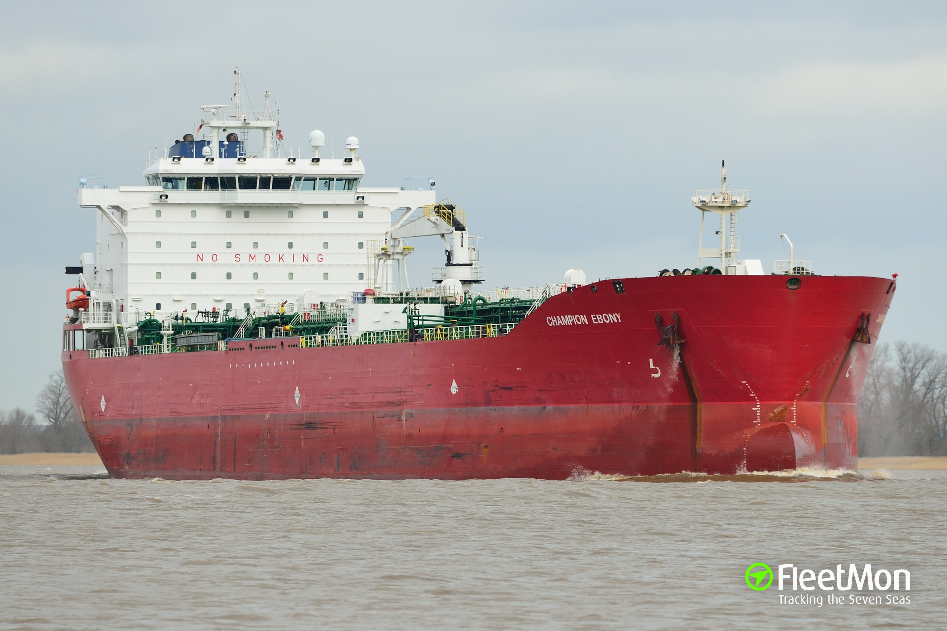 Tanker CHAMPION EBONY grounding, Alaska