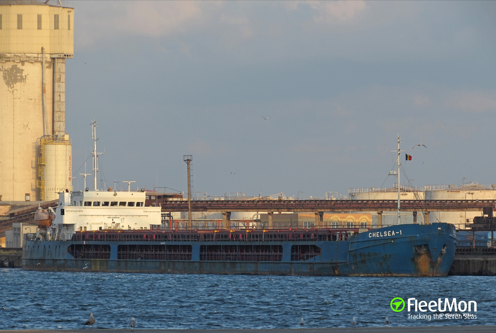 General cargo vessel Chelsea-1 grounding, Azov sea