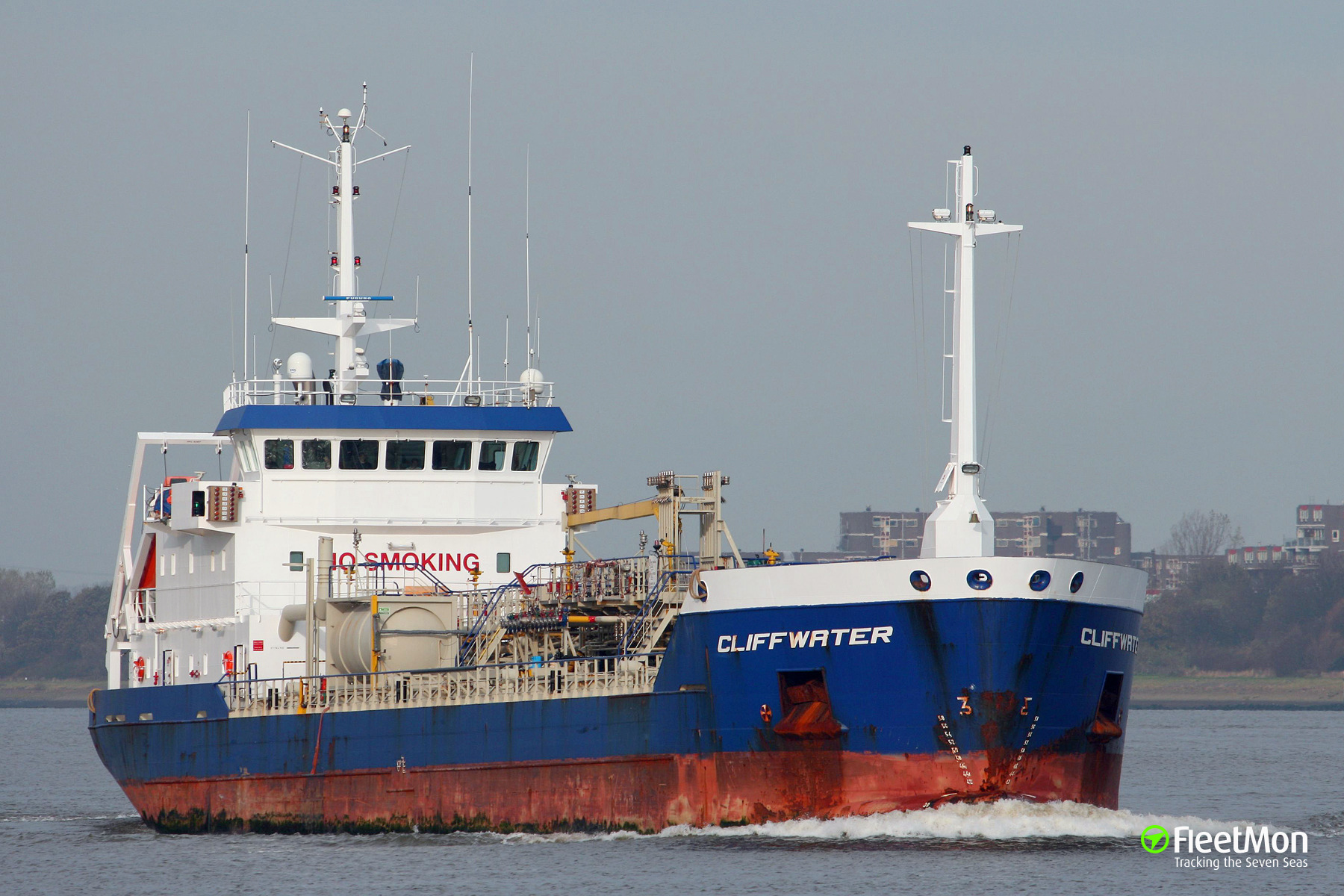 Dutch tanker Cliffwater towed to Rotterdam