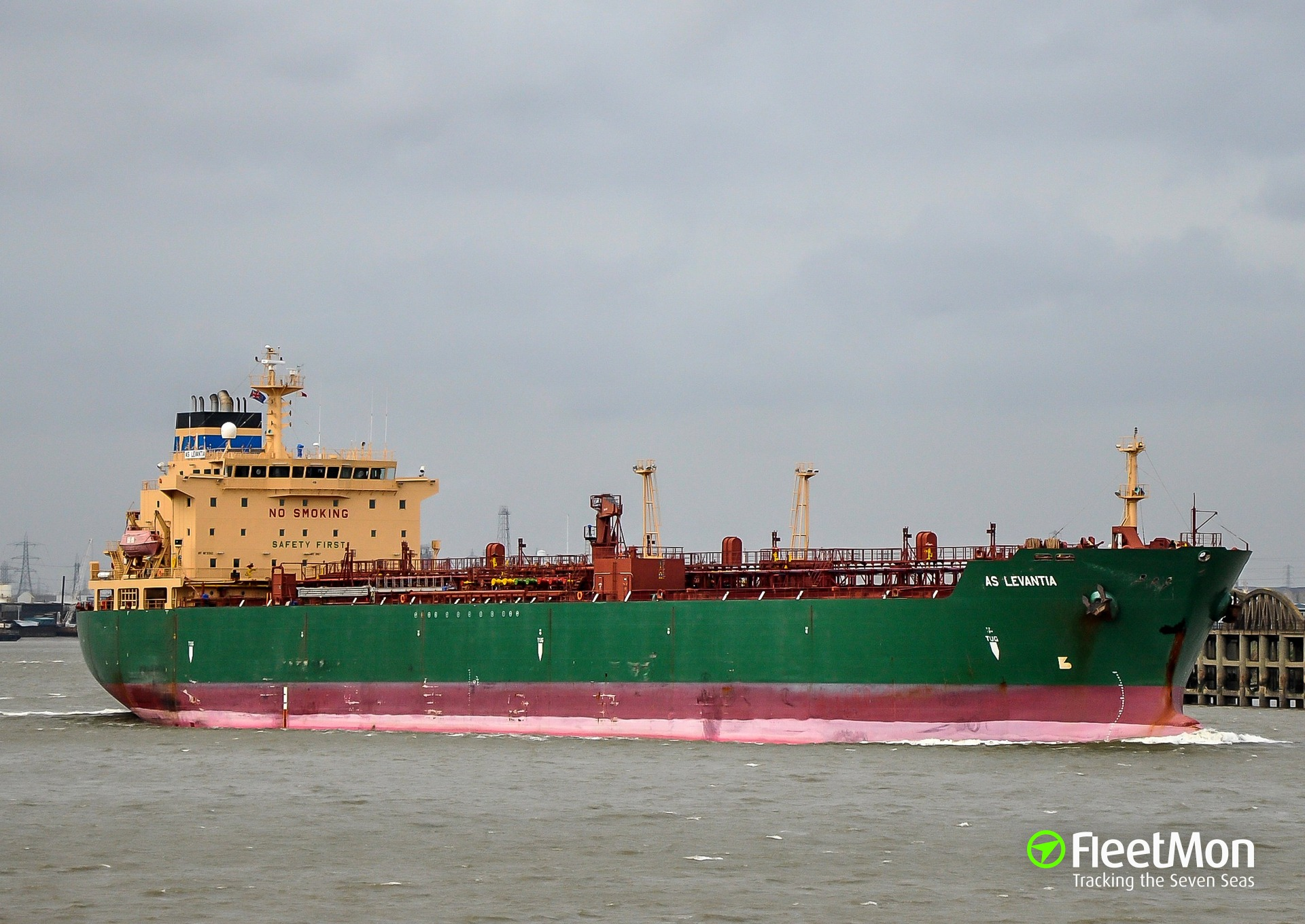Tanker Blue Gannet issued distress signal in Port Harcourt harbor, Nigeria