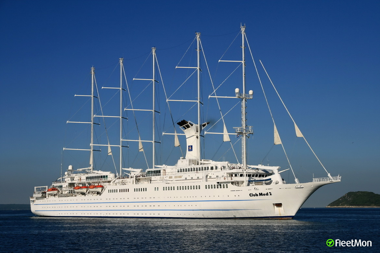 Club Med 2 Passenger Ship Imo 9007491