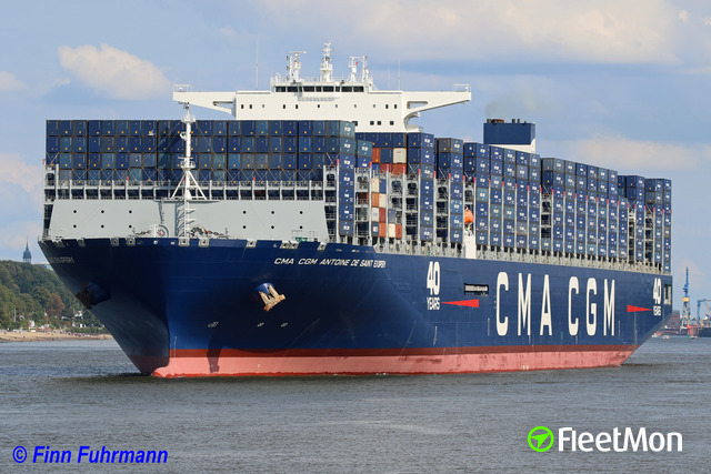 Record-breaking containership arrives at Port of Hamburg