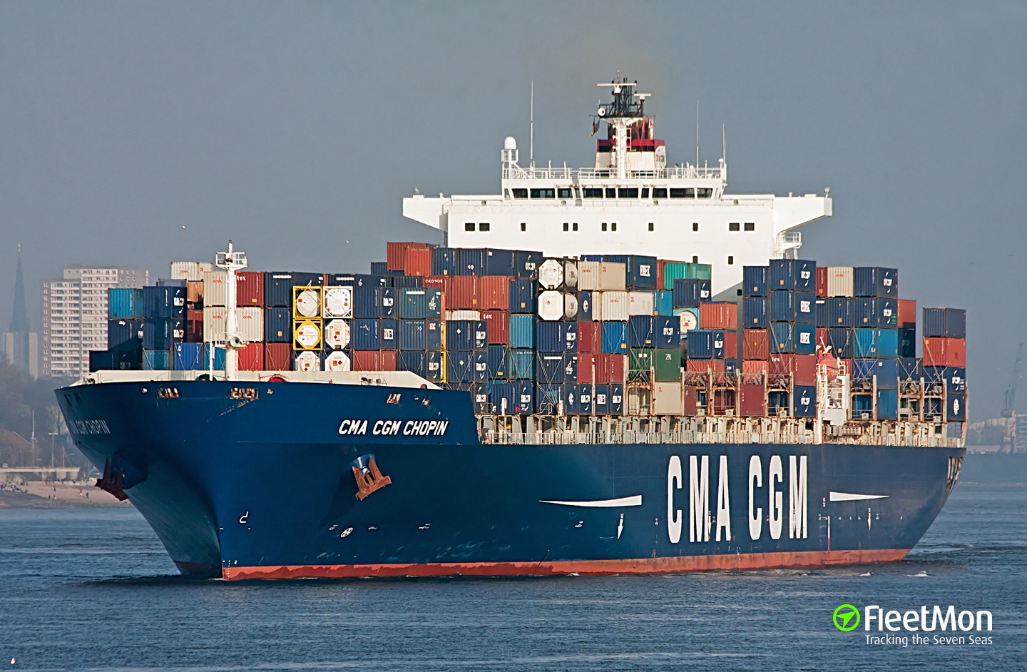 Gps Fleet Tracking Pricing >> Photo of CMA CGM CHOPIN (IMO: 9280603, MMSI: 229488000, Callsign: 9HA3373) taken by Grasbrook