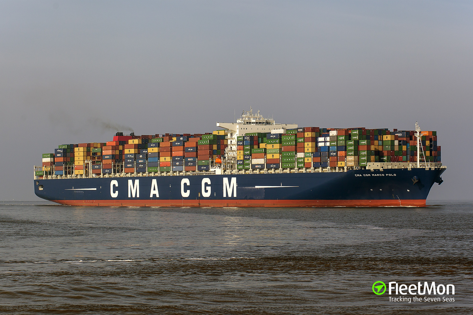 container tracking on cma