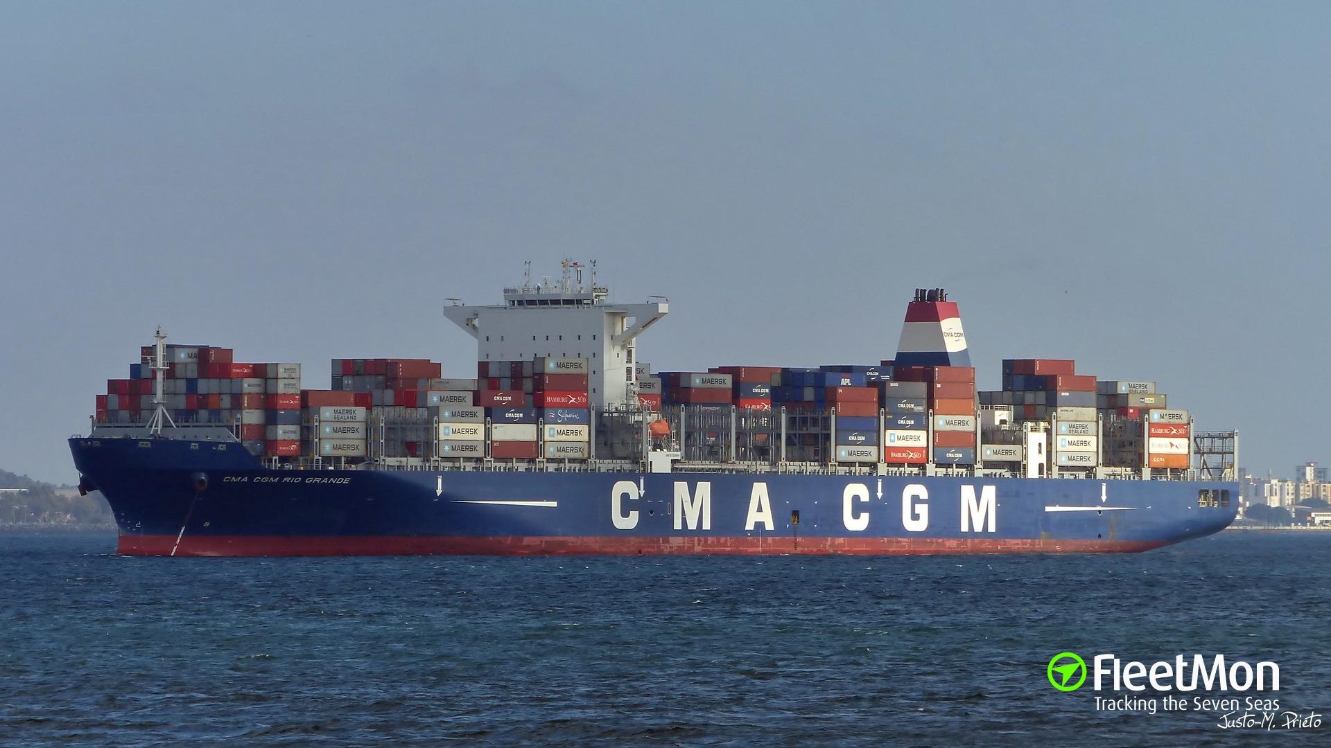 Share Photo Of CMA CGM RIO GRANDE