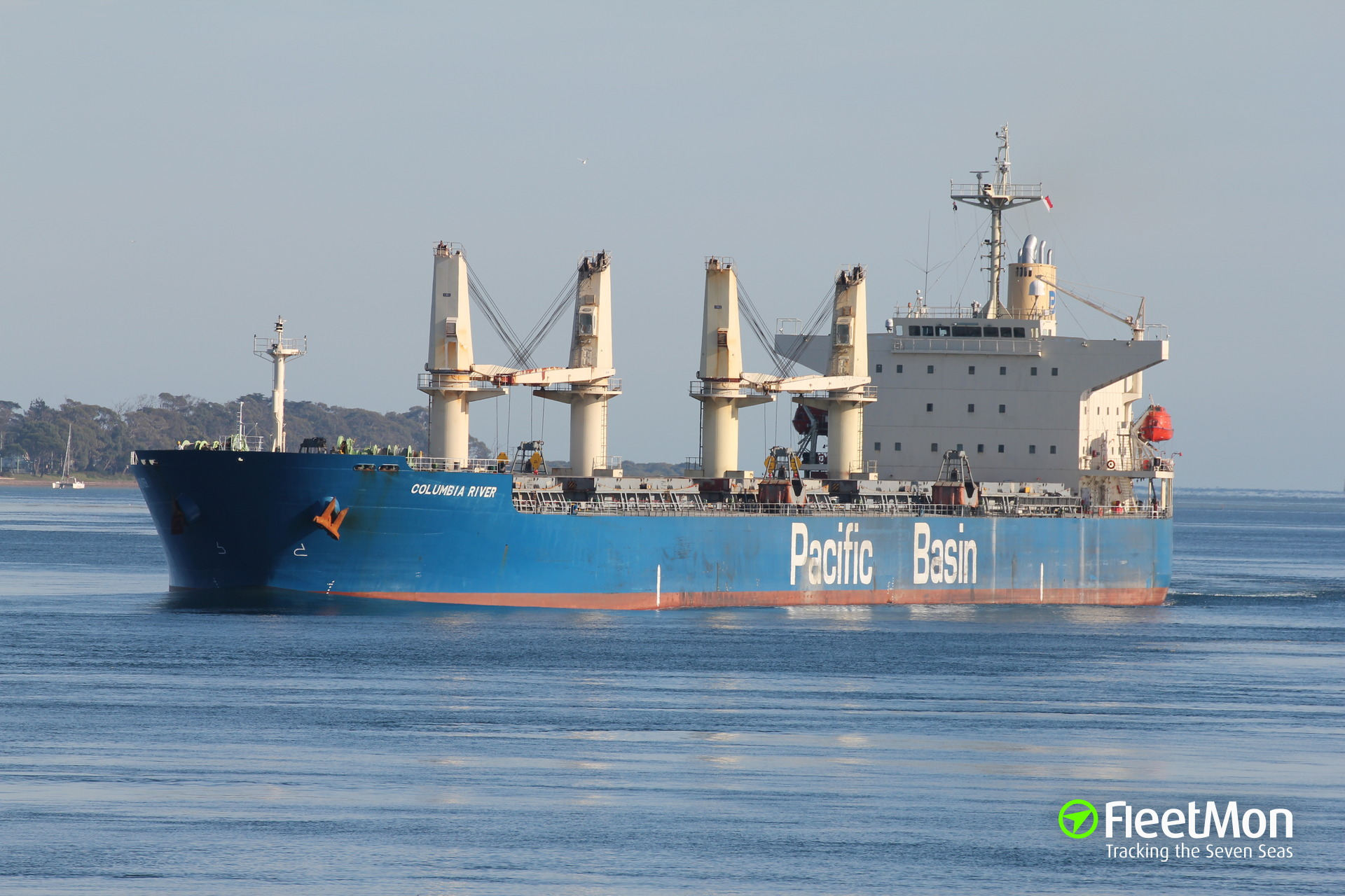 Bulk carrier COLUMBIA RIVER attacked, pirates still on board, Lagos