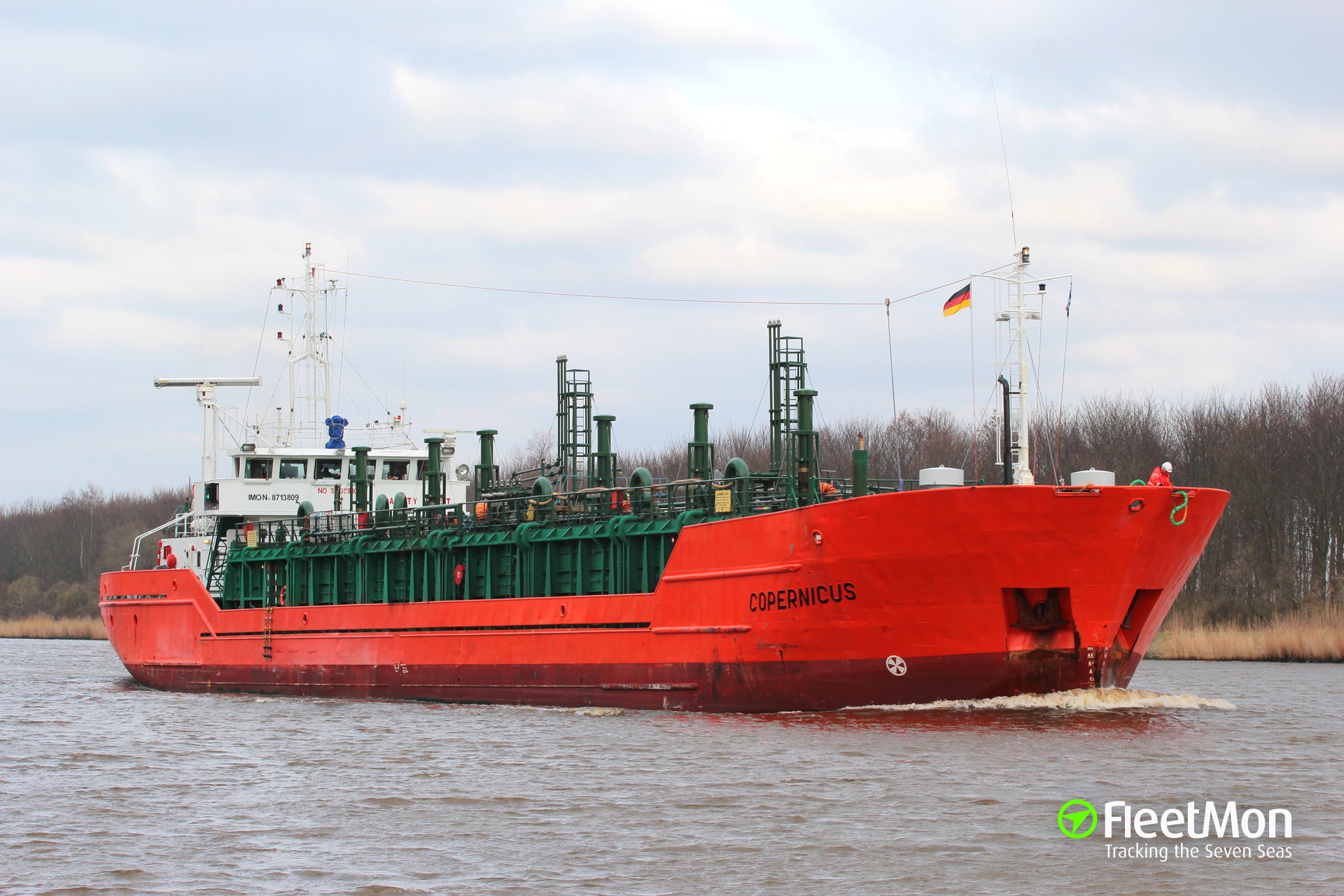 COPERNICUS disabled in English Canal