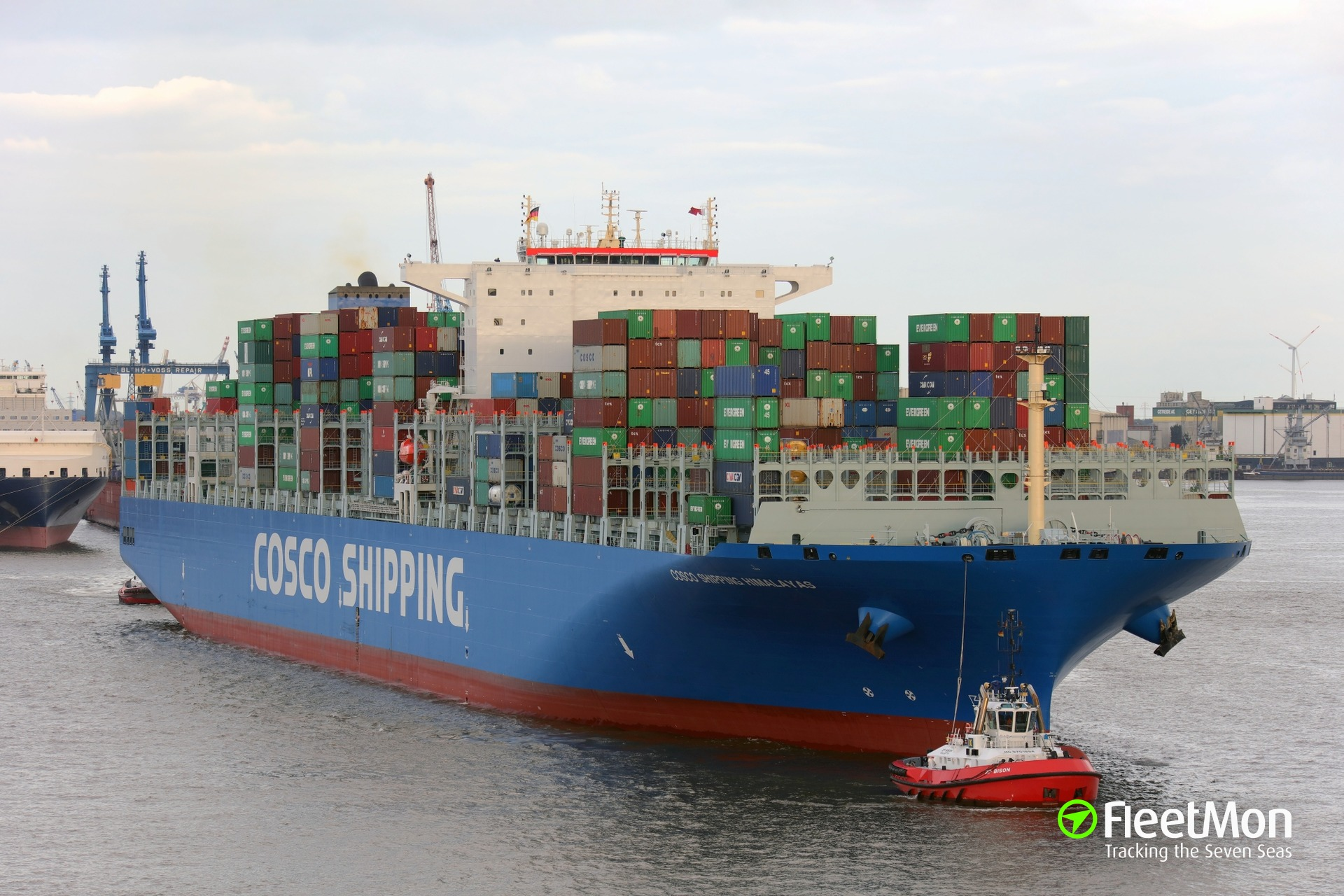 Gps Fleet Tracking Pricing >> COSCO SHIPPING HIMALAYAS (Container ship) IMO 9757840