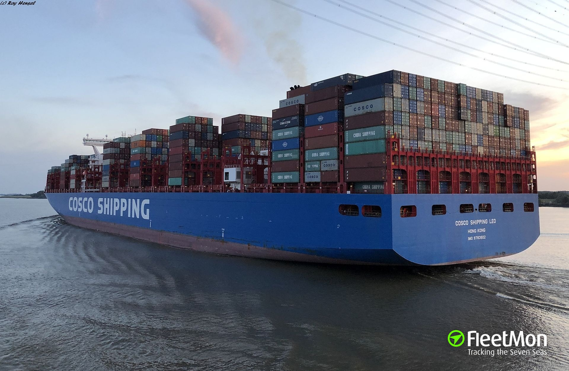 Photo of COSCO SHIPPING LEO (IMO: 9783502, MMSI: 477157800