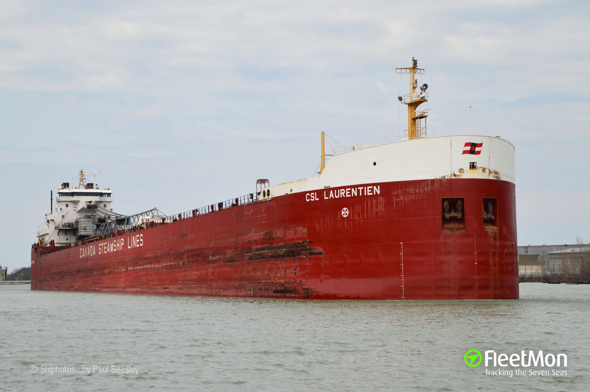 CSL LAURENTIEN grounding, Great Lakes