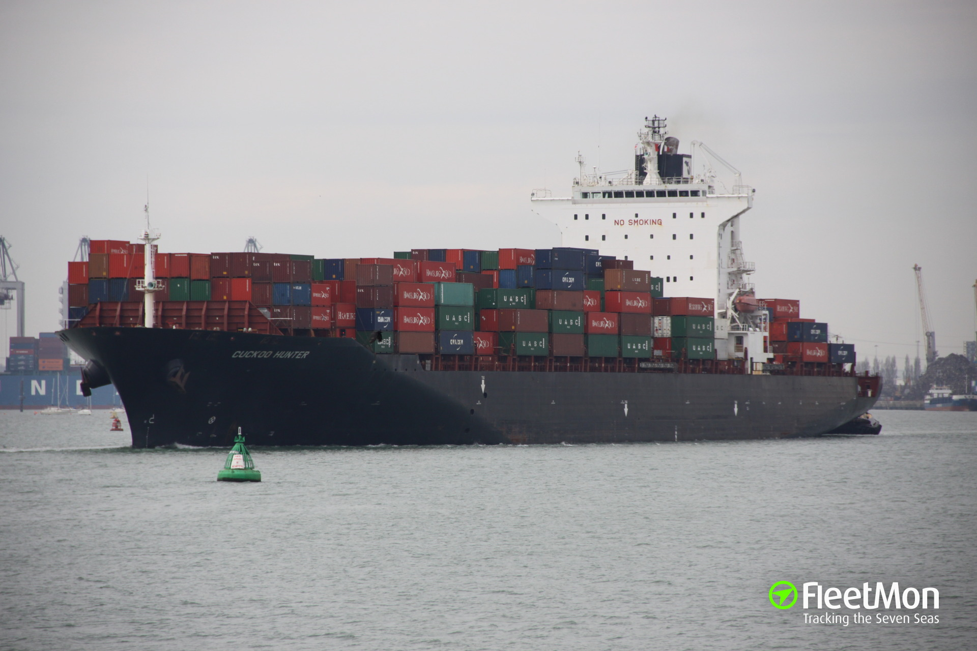 Container ship E R New York broke from her moorings, Timaru