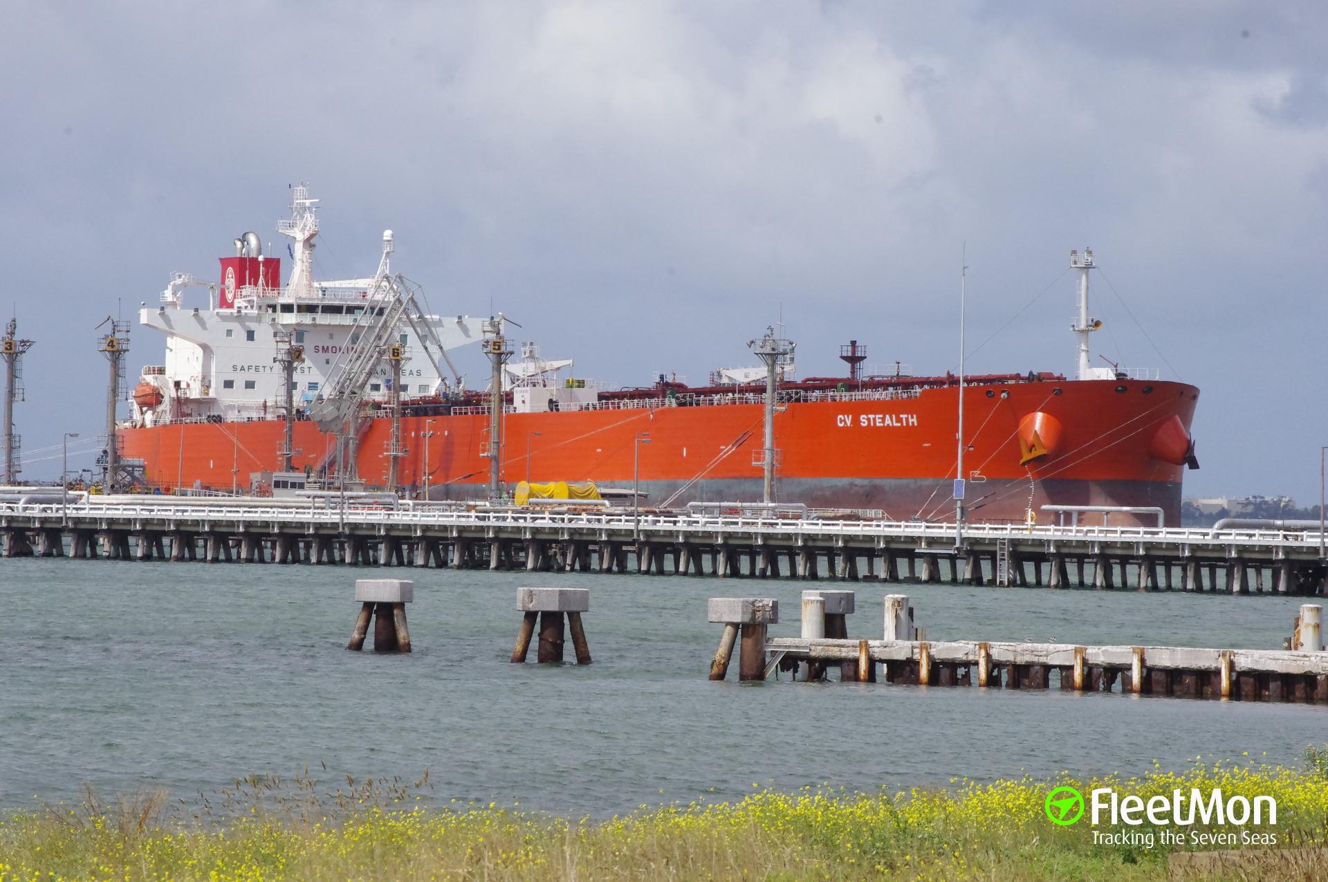Aframax tanker CV Stealth under arrest in Venezuela for 4 months, operator denies charges