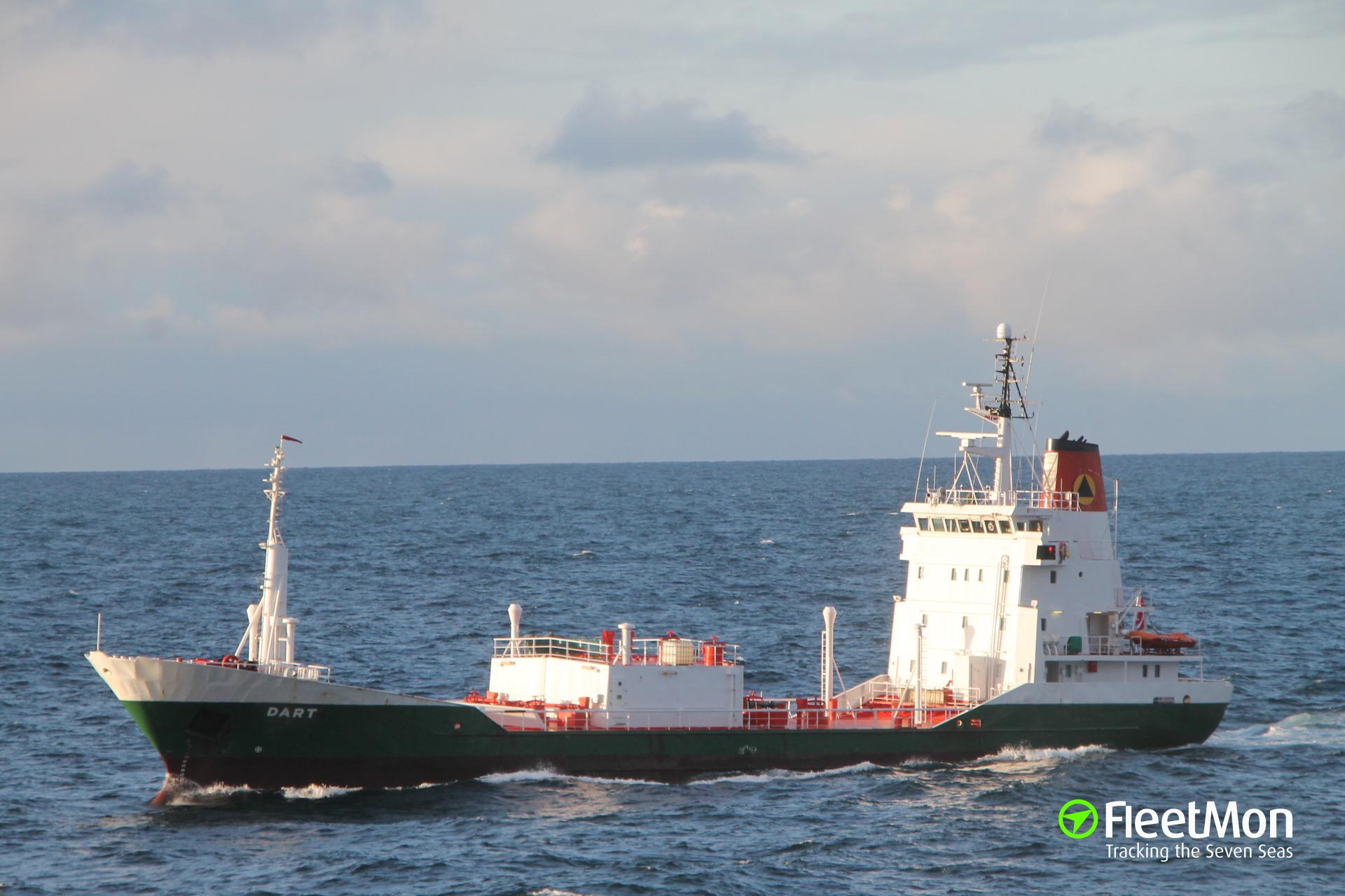 WDV Dart aground, Norway