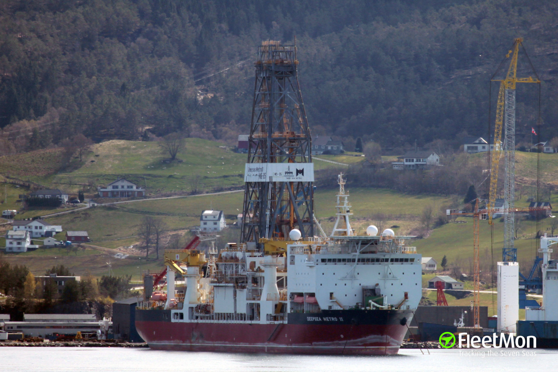 Drilling ship DEEPSEA METRO II to be arrested