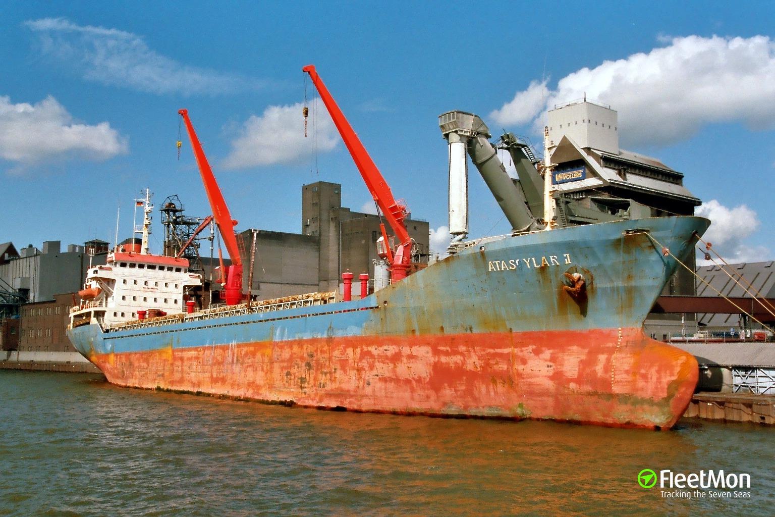 Turkish freighter DERIN fire, Chioggia