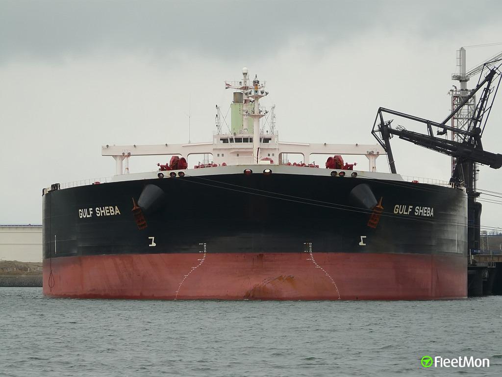 VLCC Gulf Sheba arrested in Rotterdam