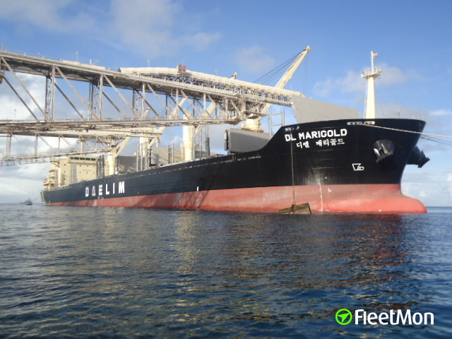 Bulk carrier DL MARIGOLD expelled from NZ, recognized biothreat, first time