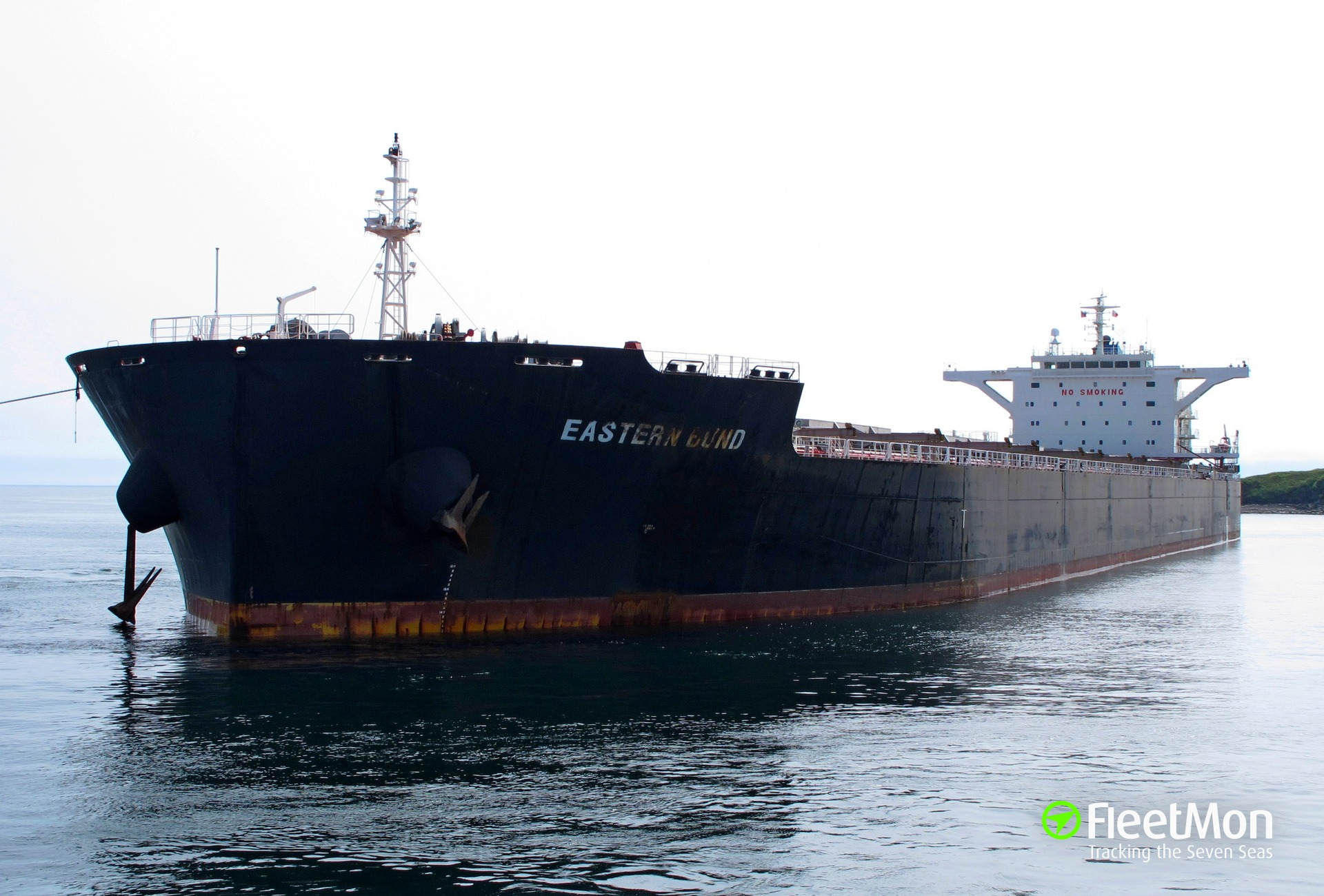 Capesize bulk carrier grounding in Suez, bottom breach. Prev news CORRECTION