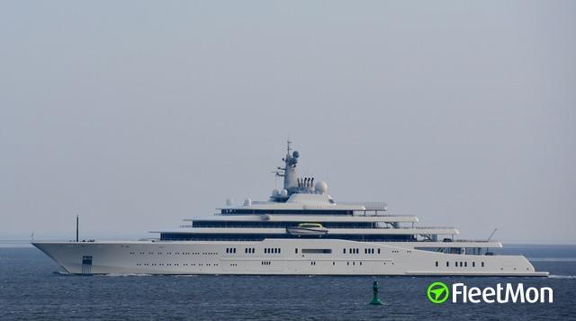 Vessel Eclipse Yacht Imo 1009613 Mmsi 310593000
