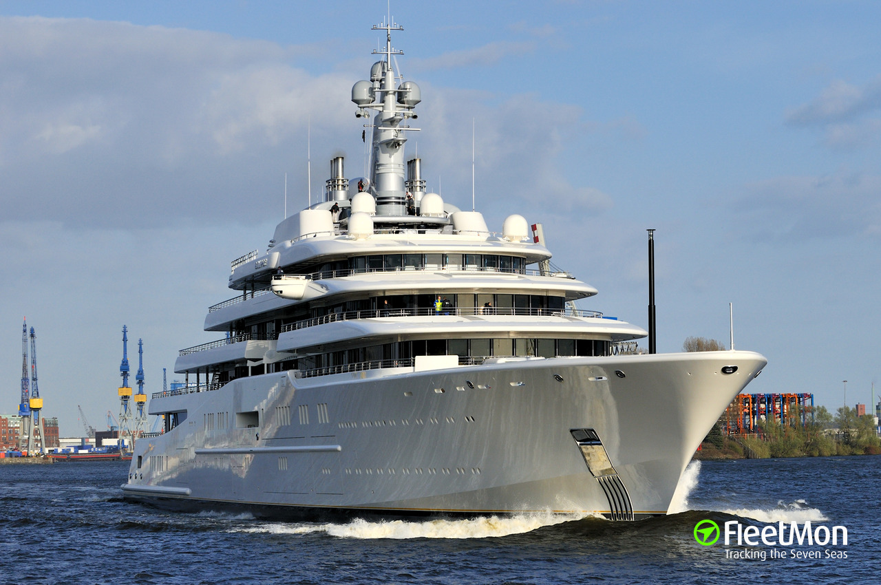 eclipse  yacht  imo 1009613